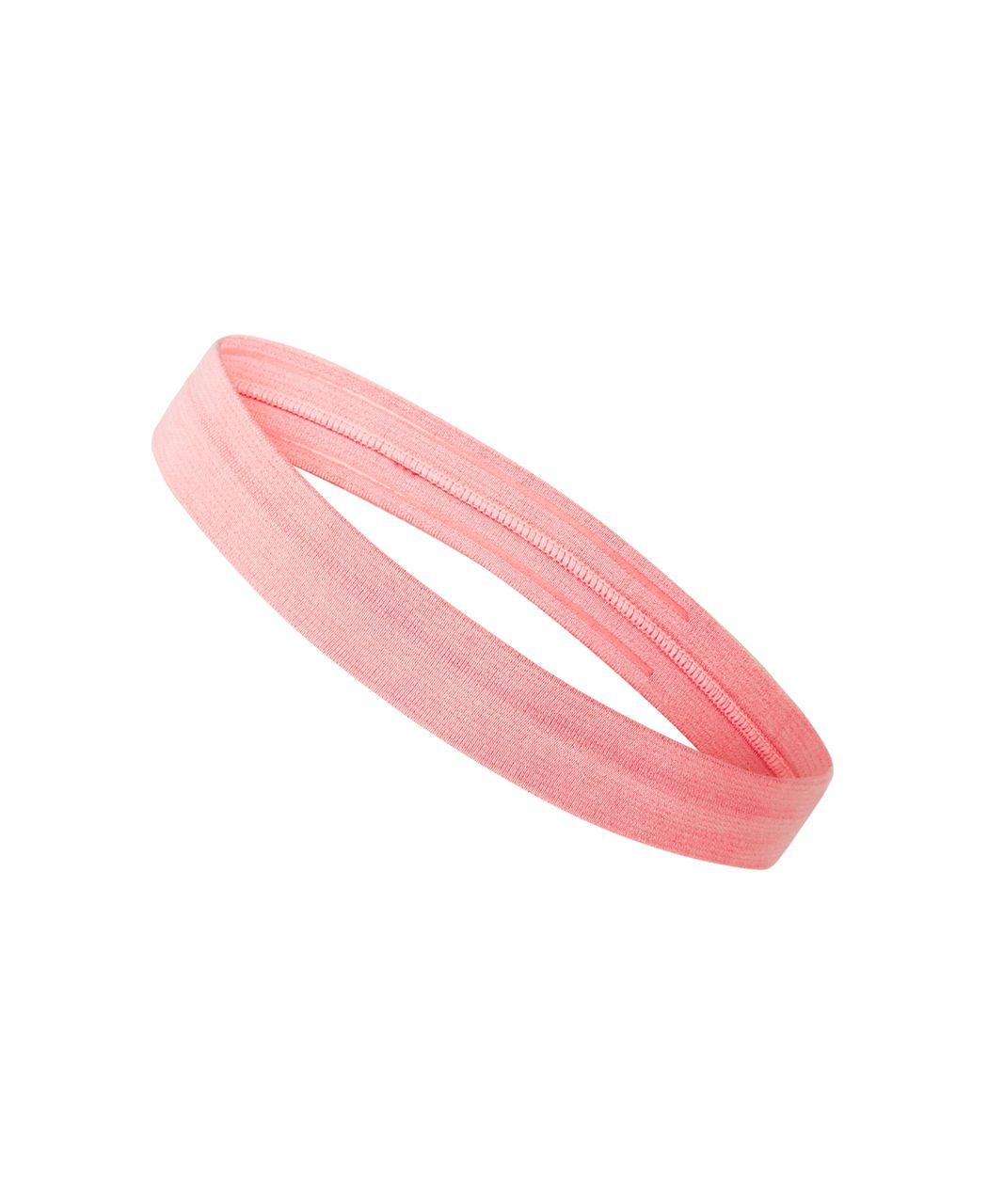 Lululemon Cardio Cross Trainer Headband - Heathered Grapefruit