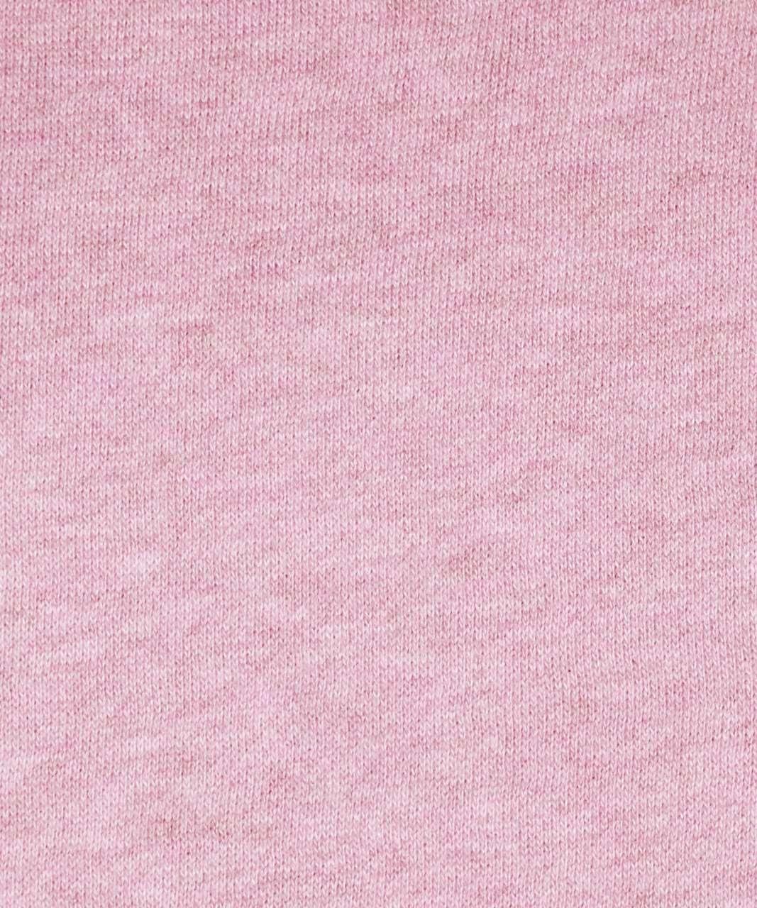 Lululemon Scuba Hoodie *Light Cotton Fleece - Heathered Dusty Rose