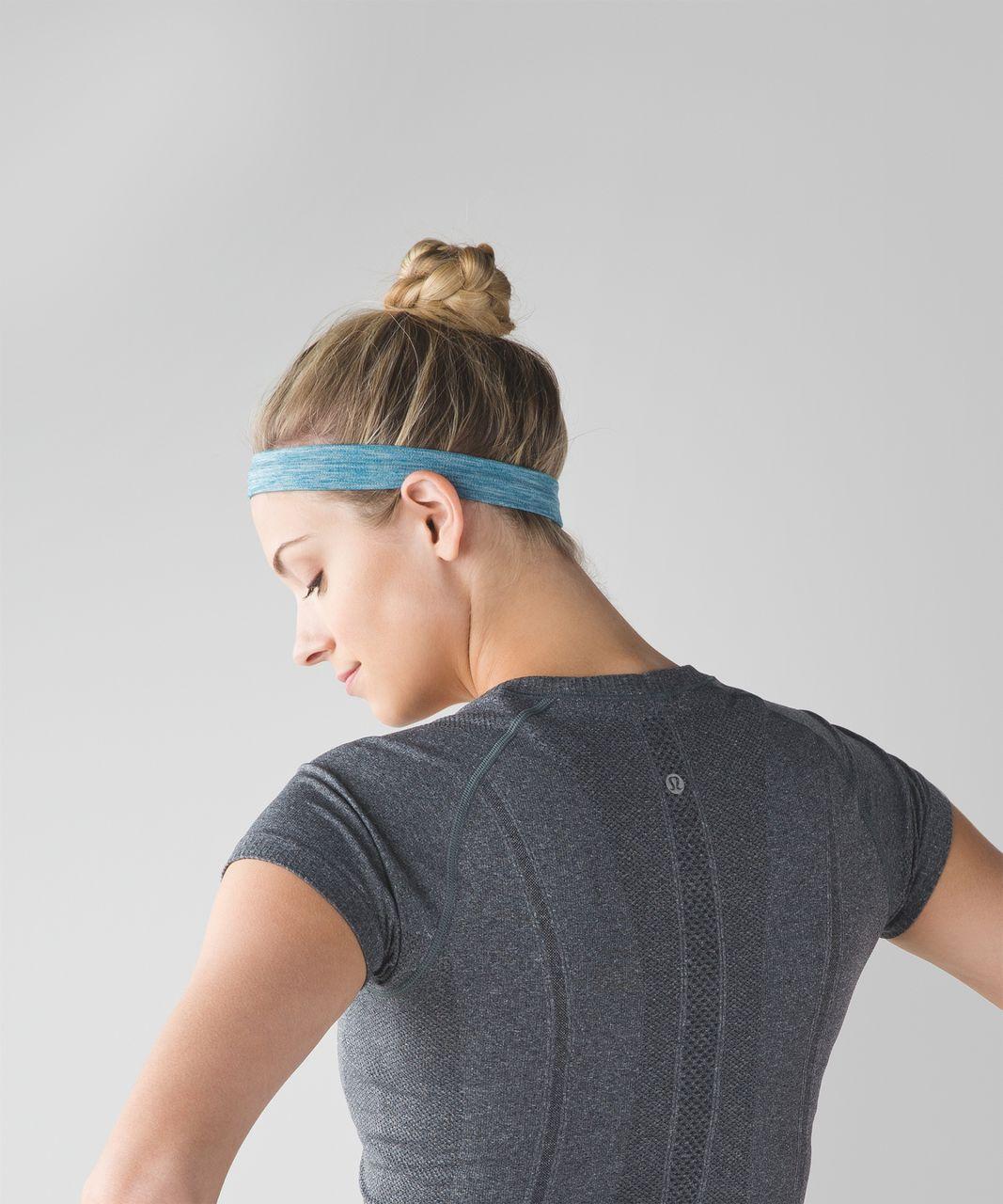 Lululemon Cardio Cross Trainer Headband - Heathered Tofino Teal
