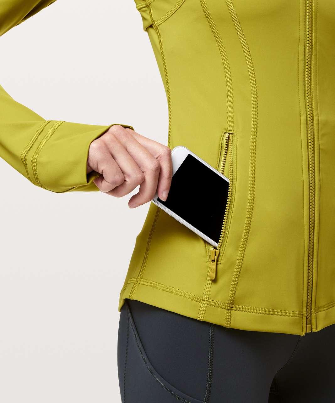 Lululemon Define Jacket *Nulux - Golden Lime