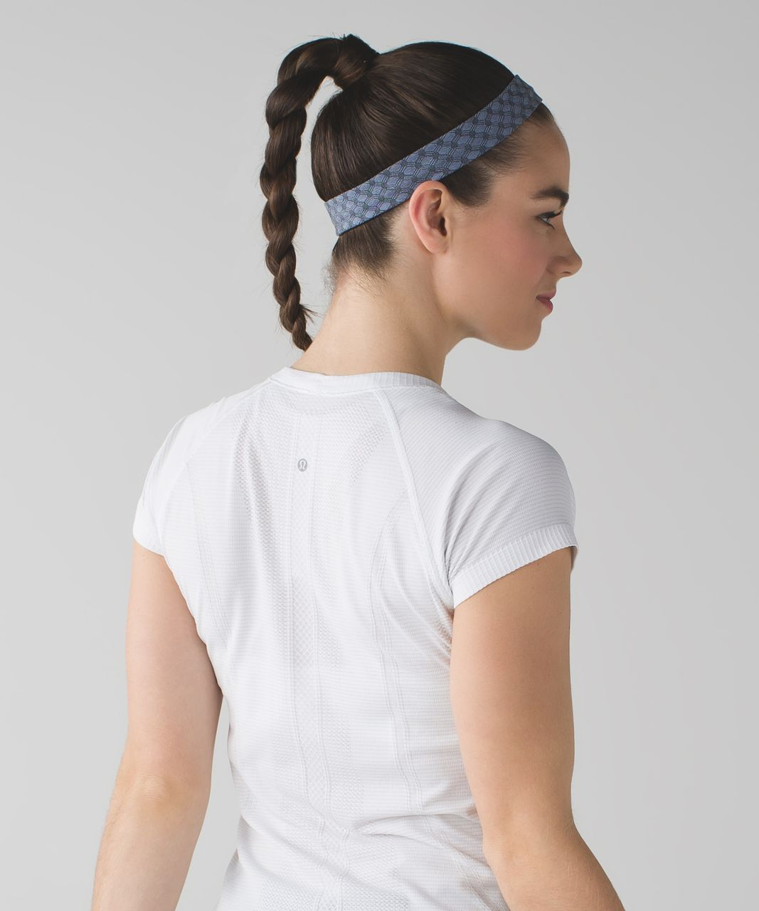 Lululemon Cardio Cross Trainer Headband - Heathered Lullaby (Print)