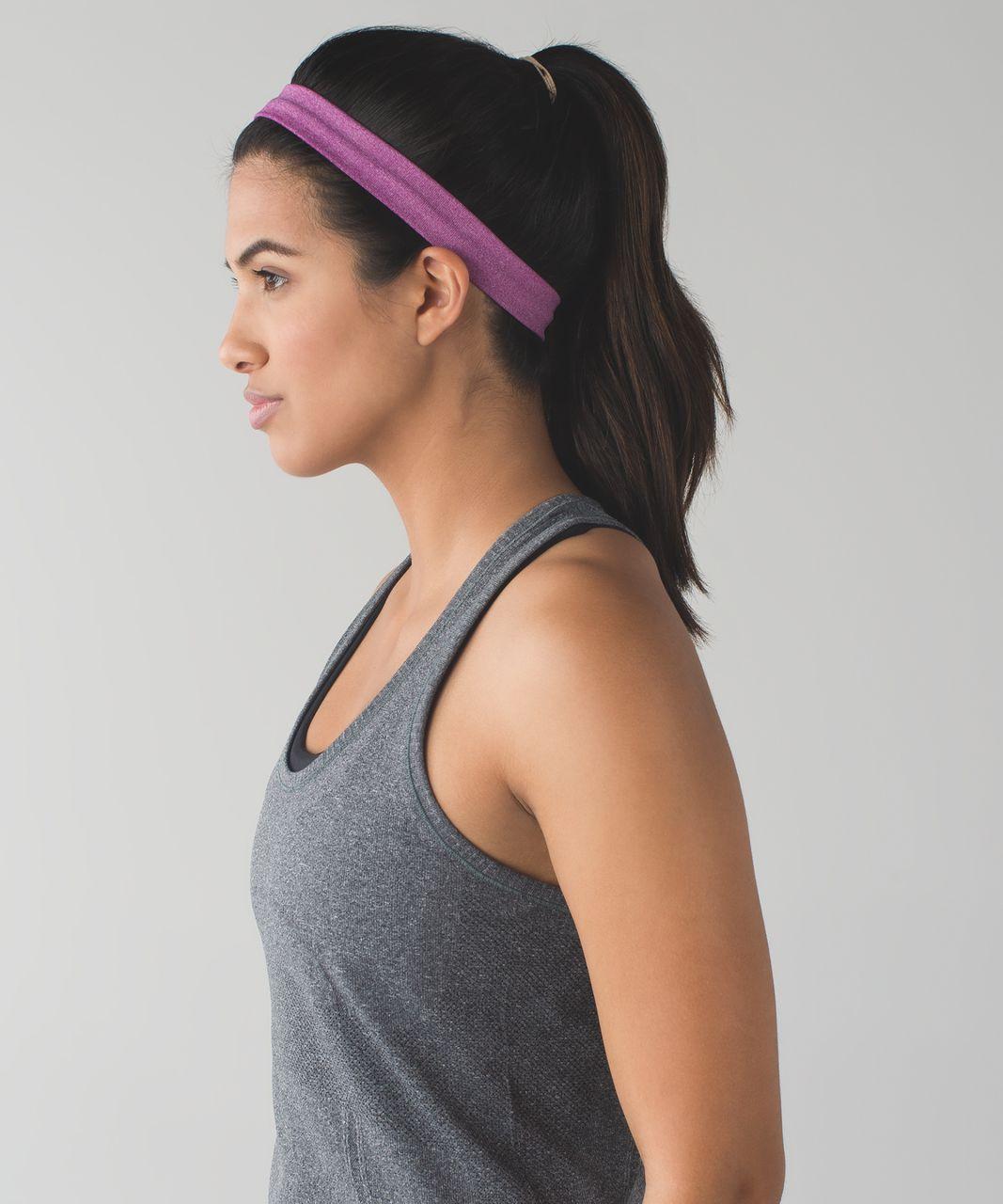 Lululemon Cardio Cross Trainer Headband - Heathered Regal Plum