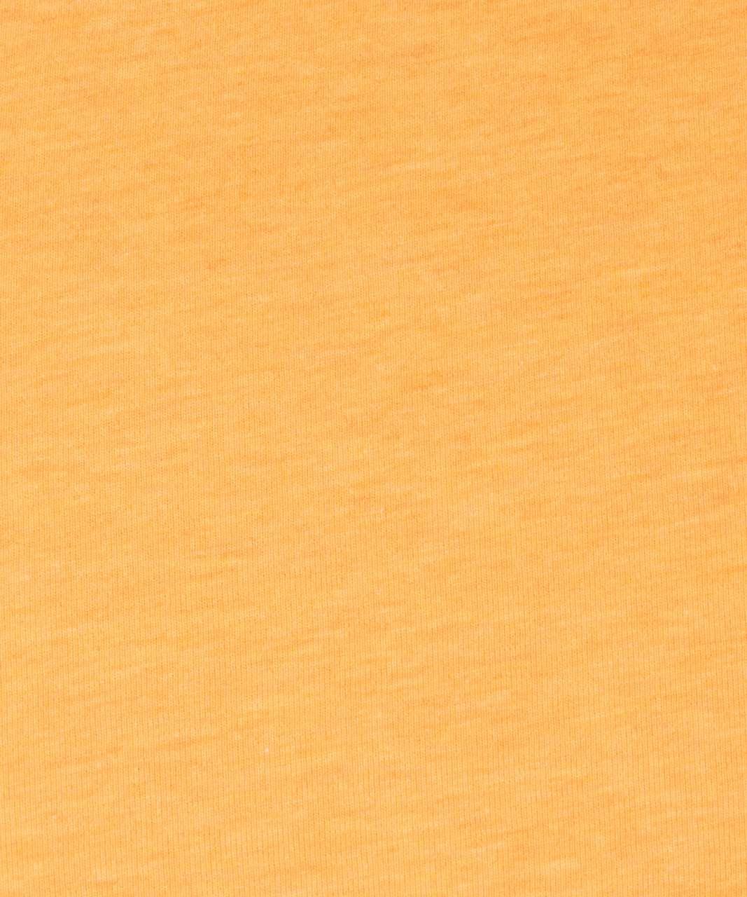 Lululemon Brunswick Muscle Tank - Heathered Honey Lemon