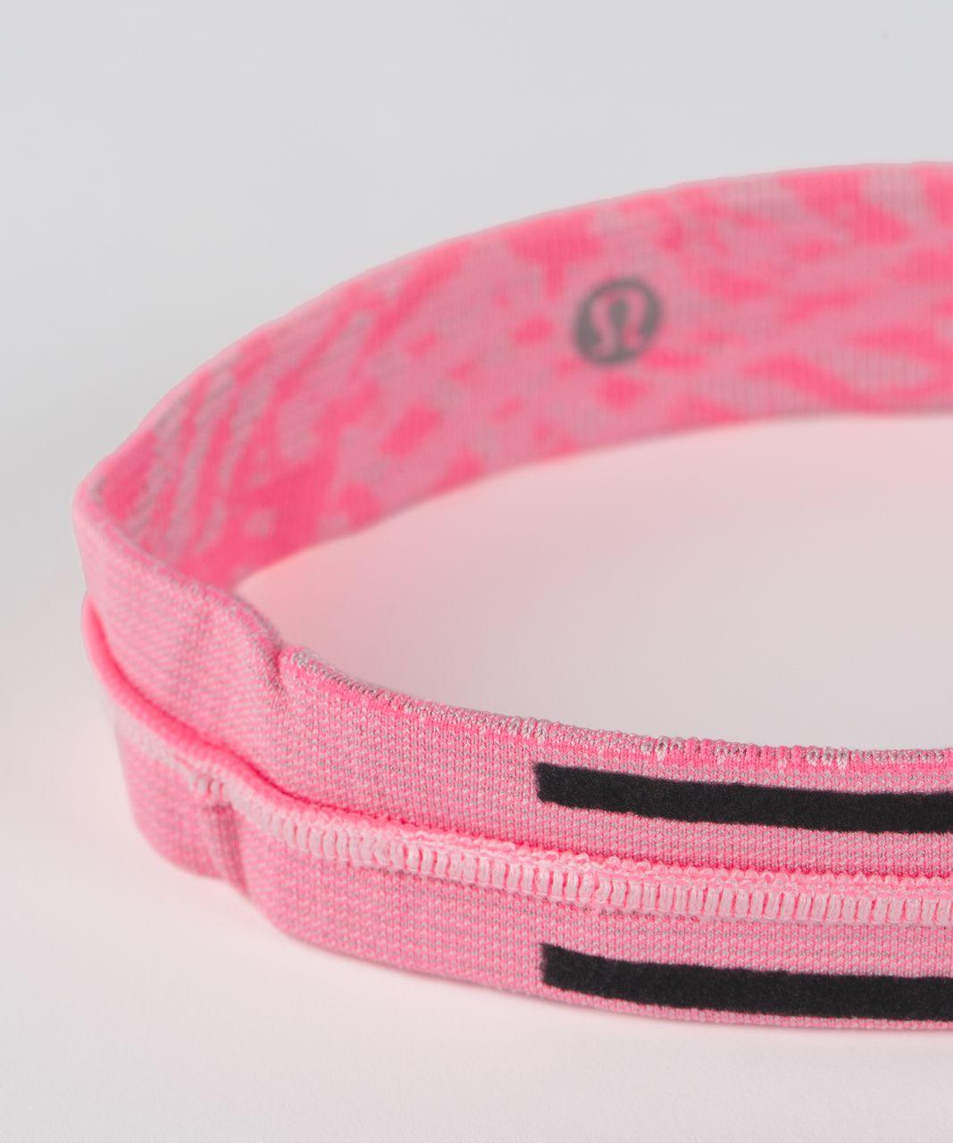 Lululemon Cardio Cross Trainer Headband - Heathered Flash Light