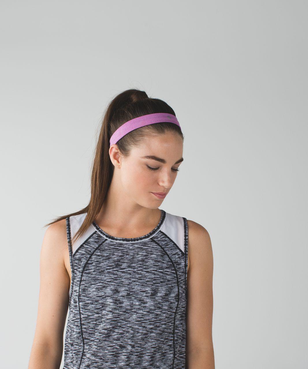 Lululemon Cardio Cross Trainer Headband - Heathered Ultra Violet