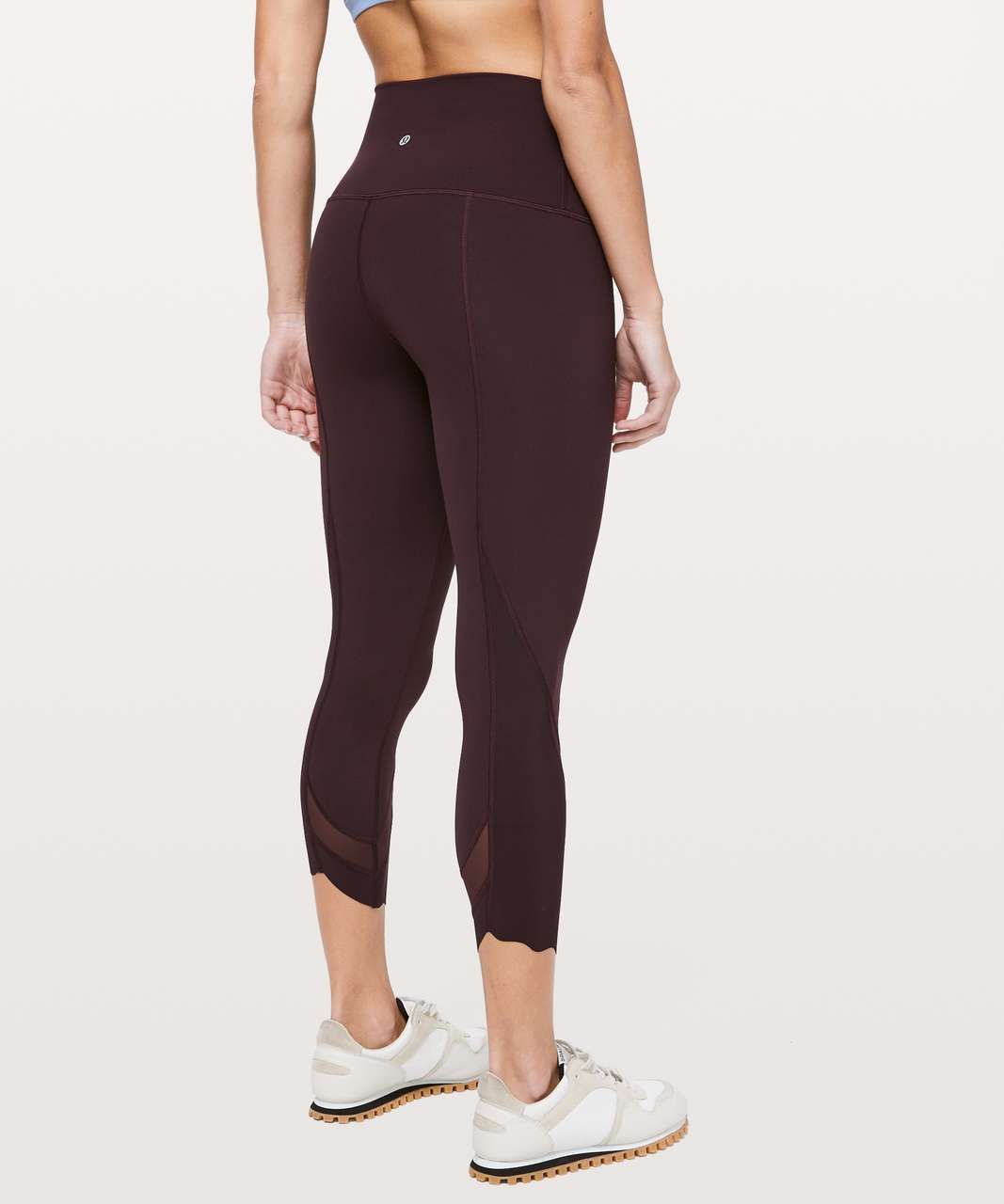 fe86726949 Lululemon Wunder Under Crop II *Roll Down Scallop Full-On Luxtreme ...