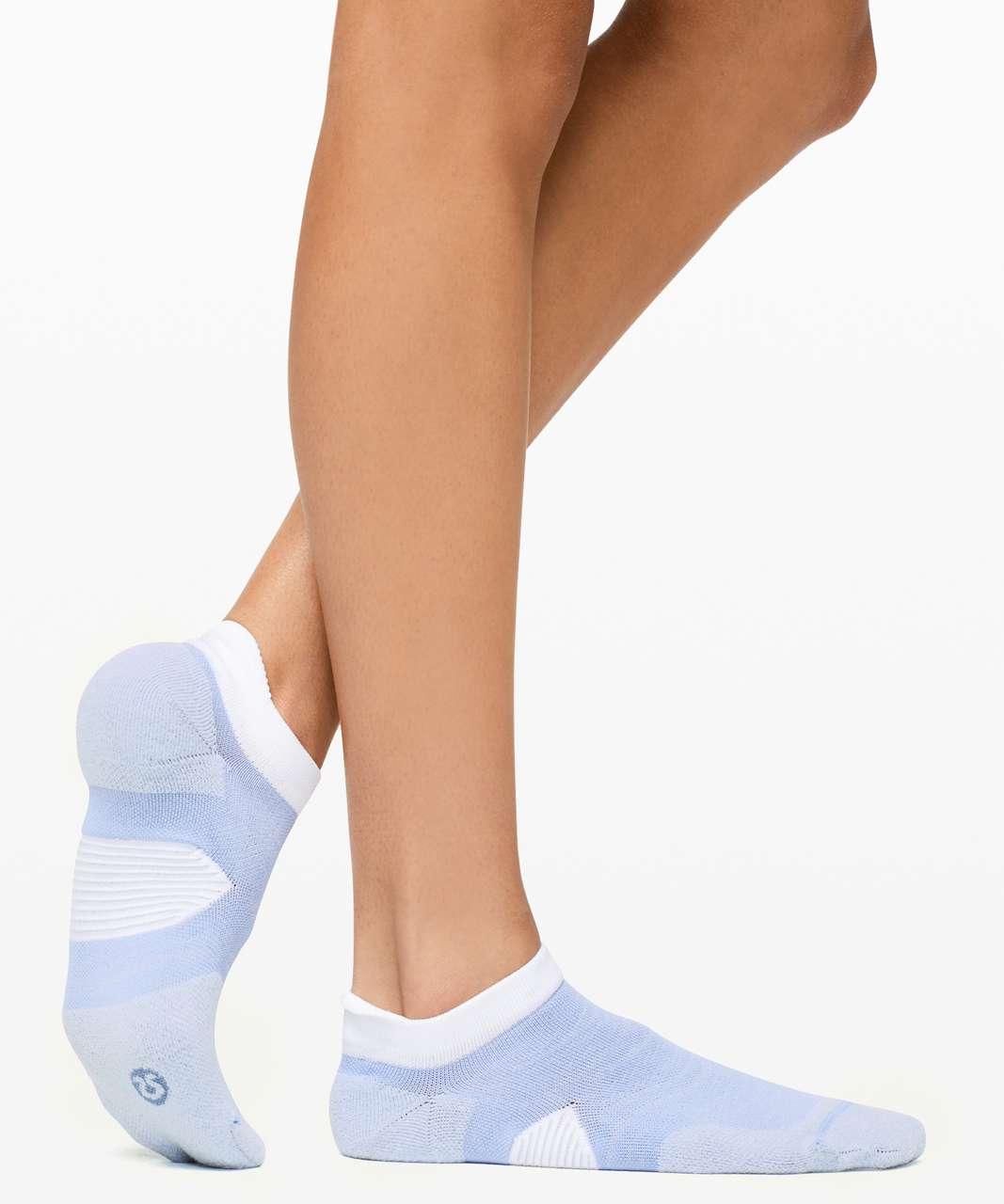 Lululemon Speed Sock *Silver - Hydrangea Blue / Breezy