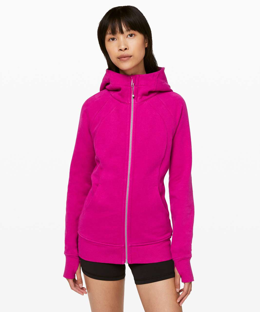 Lululemon Scuba Hoodie *Light Cotton Fleece - Fantom Fuchsia