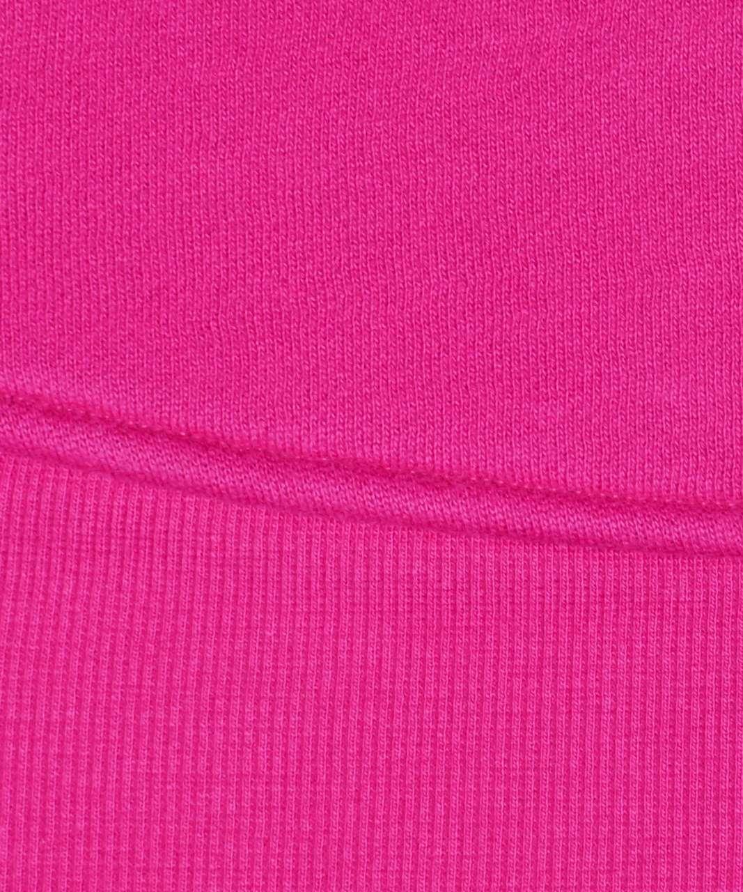 Lululemon Scuba Hoodie *Light Cotton Fleece - Fantom Fuchsia