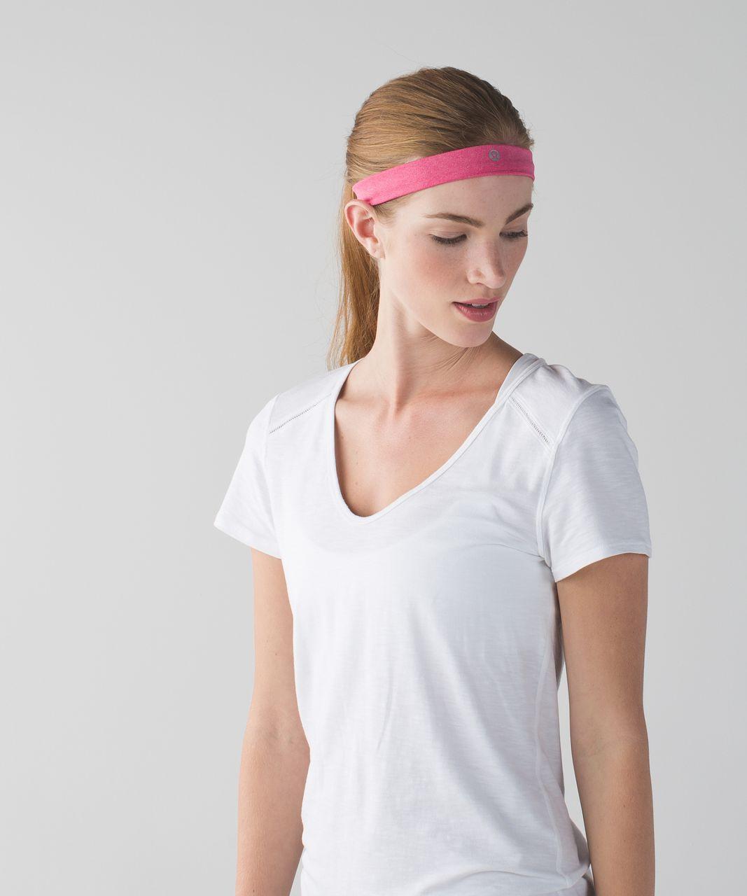 Lululemon Cardio Cross Trainer Headband - Heathered Bon Bon