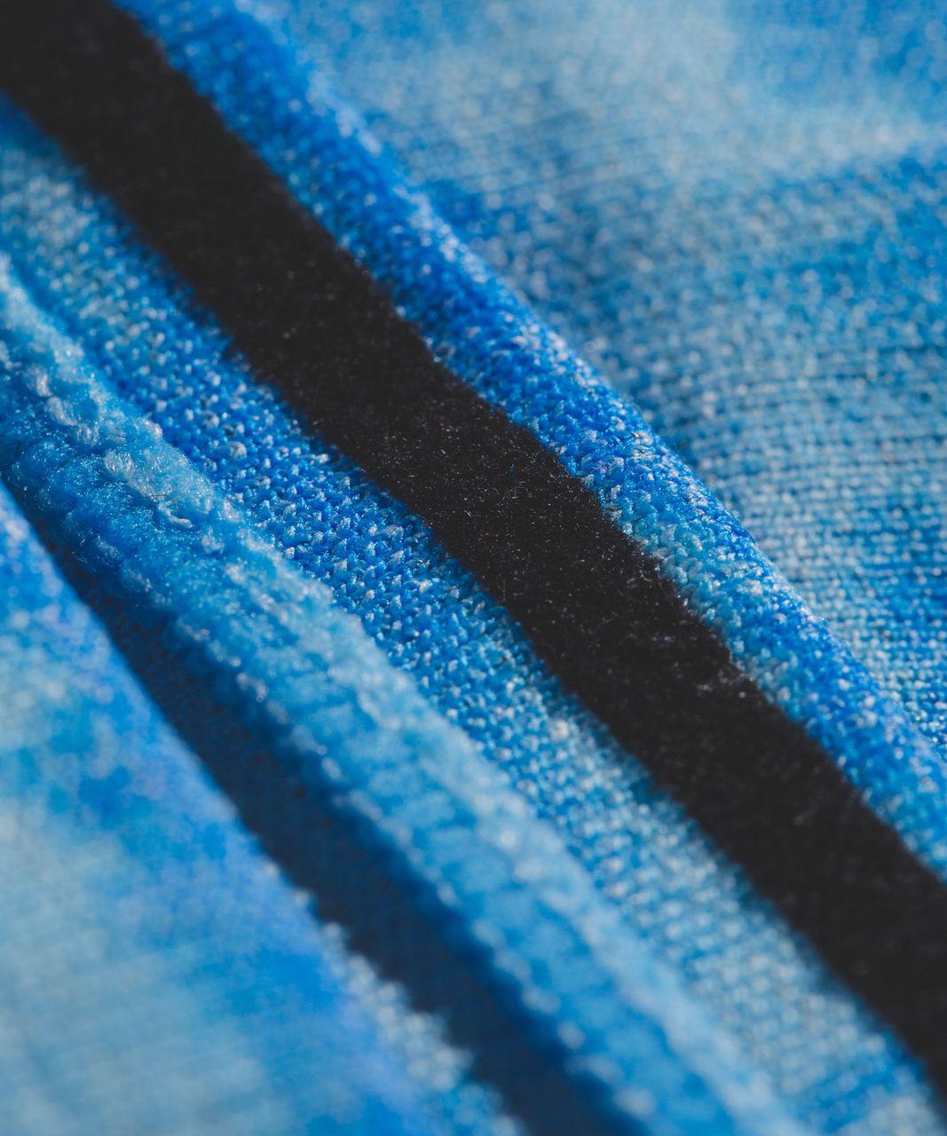 Lululemon Cardio Cross Trainer Headband - Pipe Dream Blue / Heathered Caspian Blue