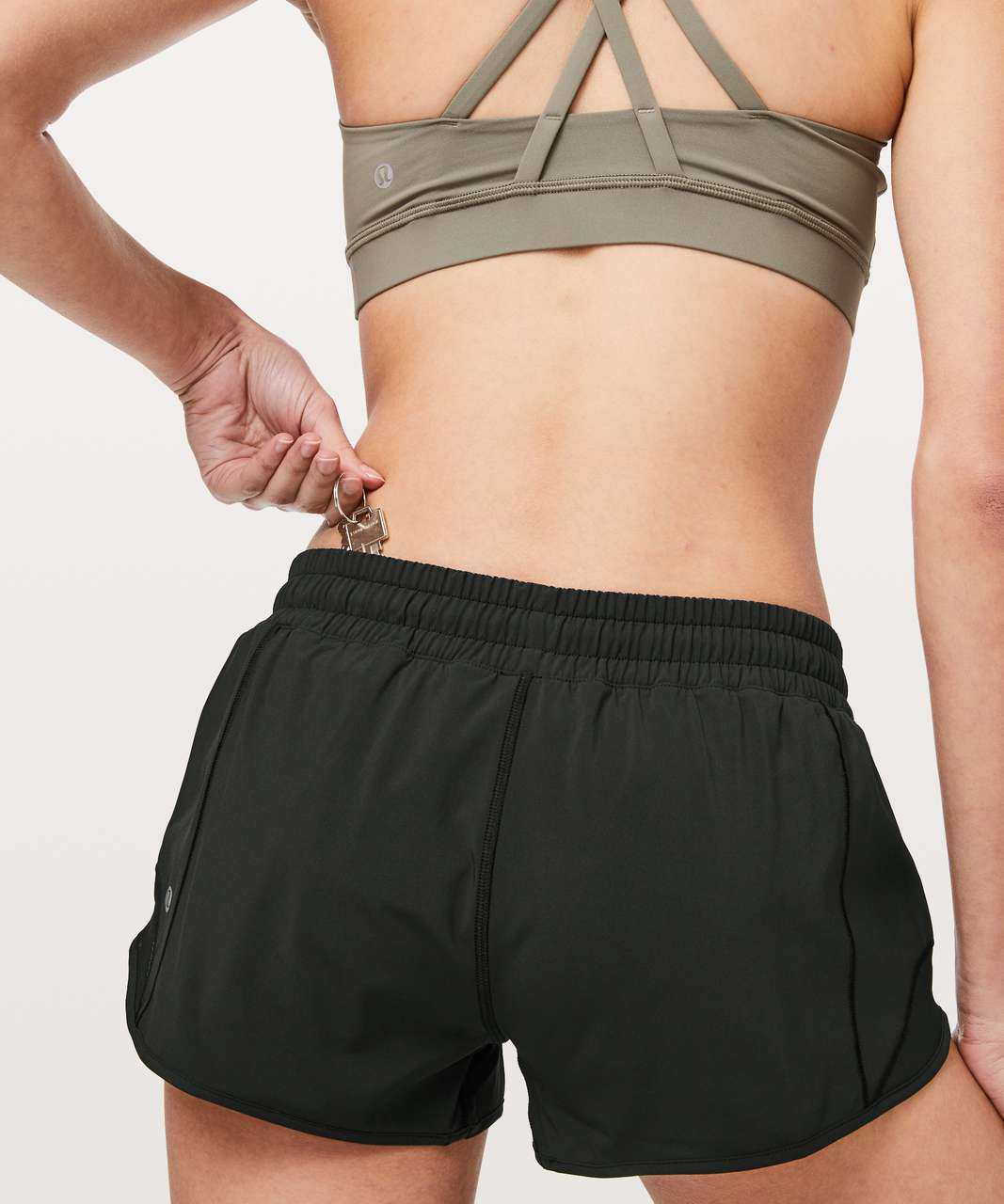 "Lululemon Hotty Hot Short II *2.5"" - Black"