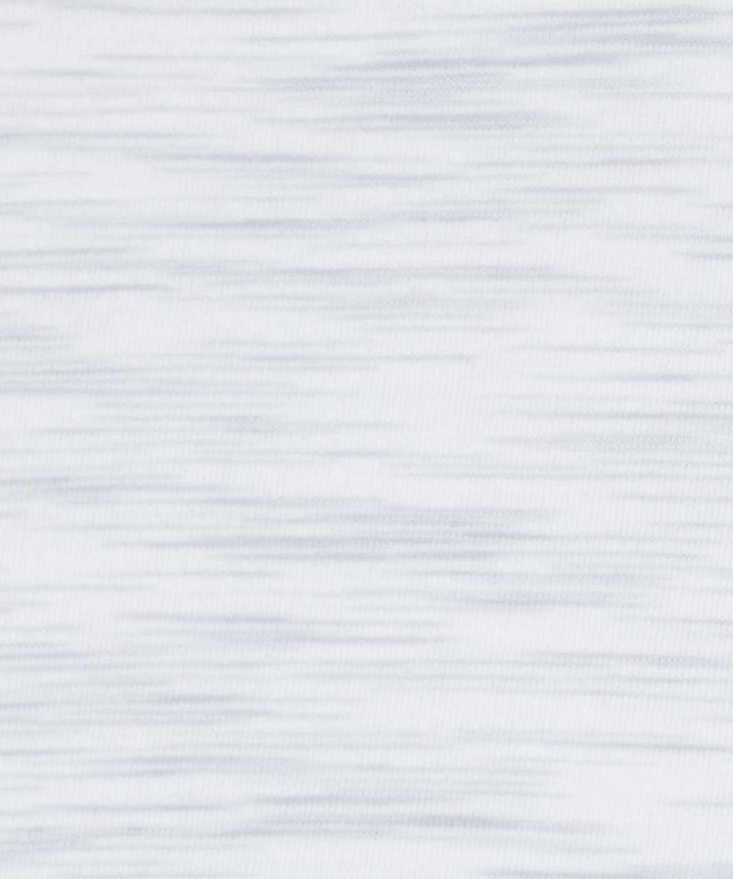 Lululemon Love Tee V - 3 Colour Space Dye Ice Grey Alpine White