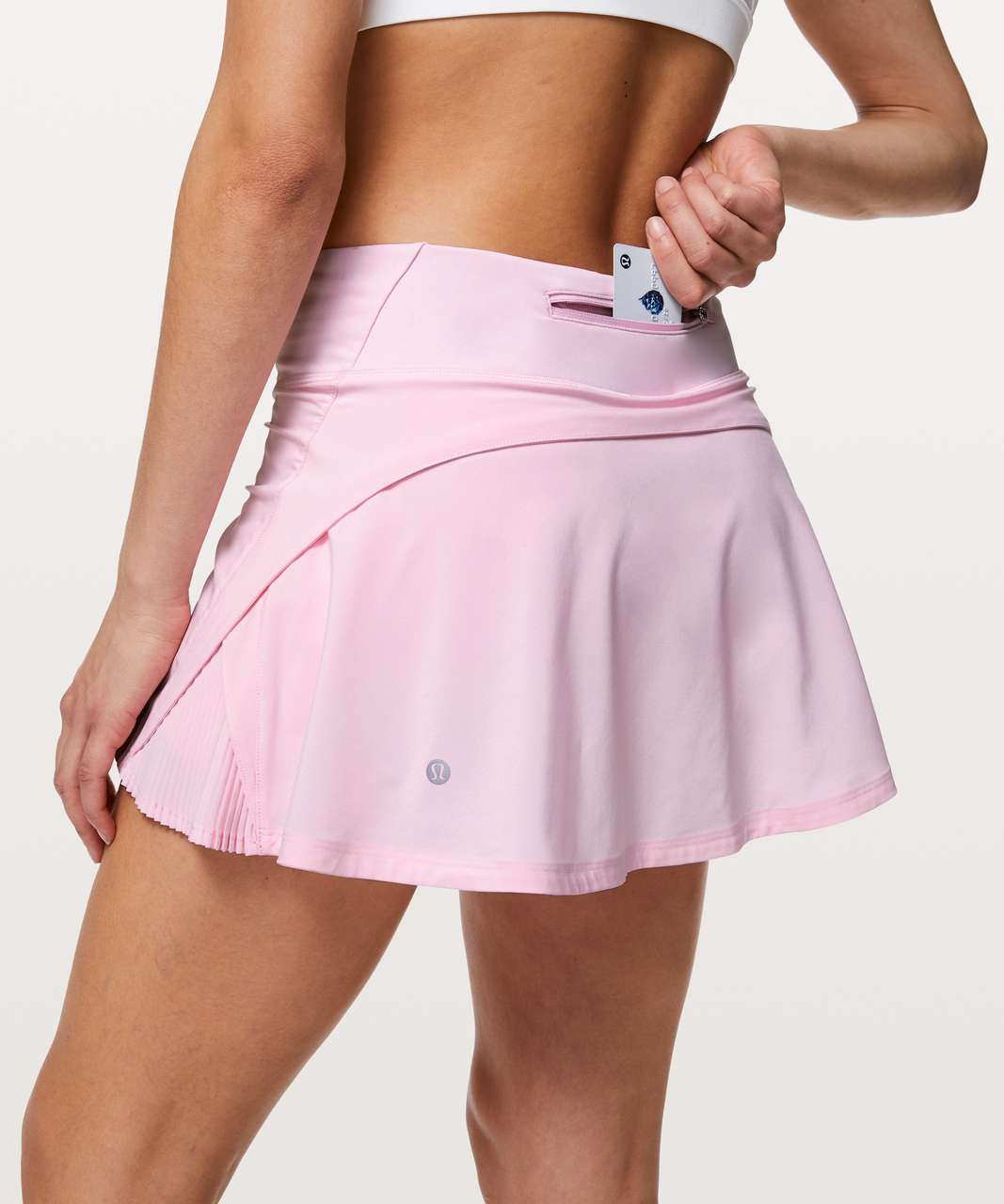 "Lululemon Play Off The Pleats Skirt *13"" - Pearl Pink"