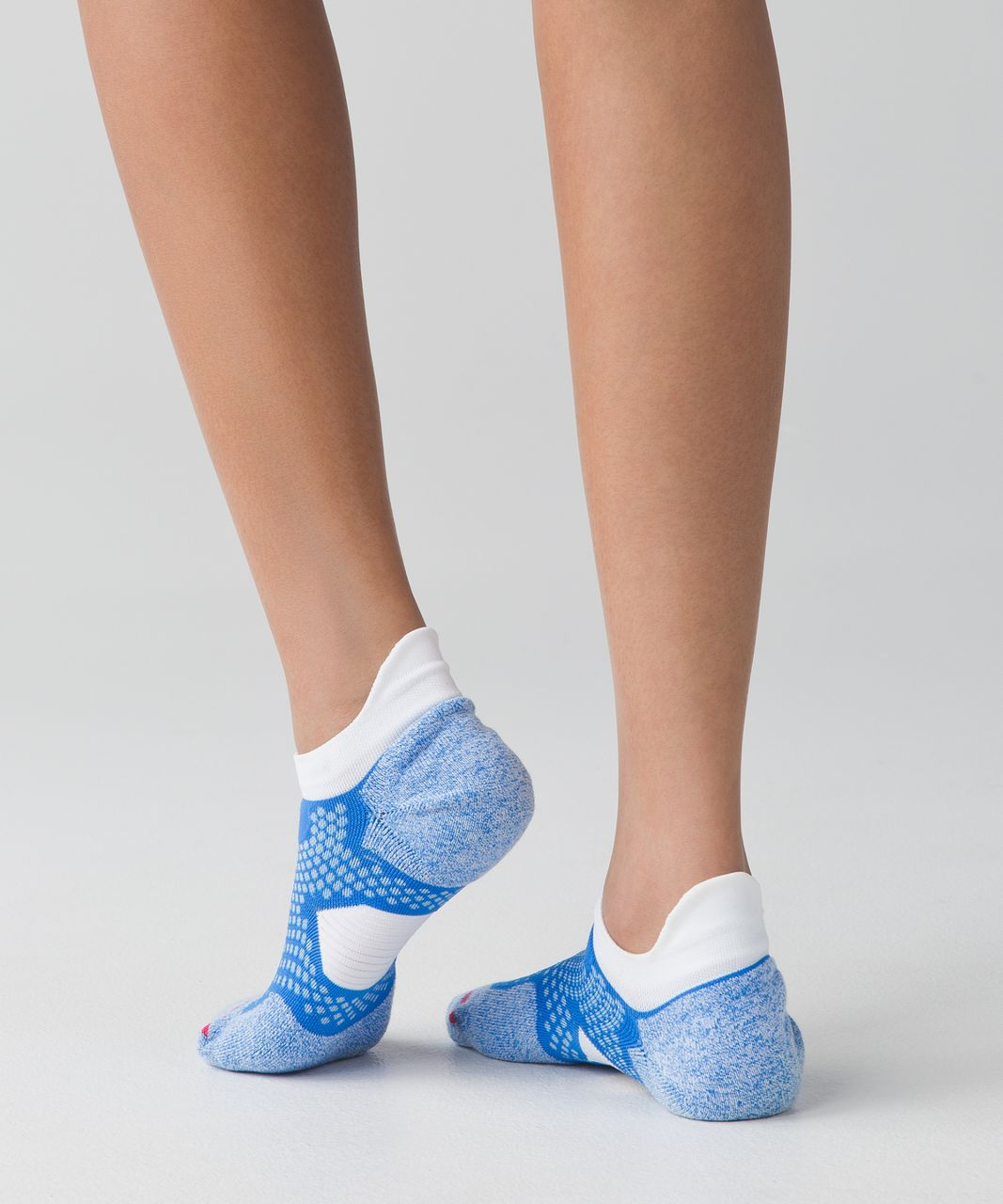 Lululemon High Speed Sock - Pipe Dream Blue / Caspian Blue / Boom Juice