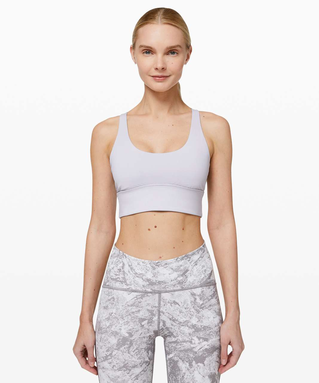 Lululemon Free To Be Moved Bra - Silver Lilac