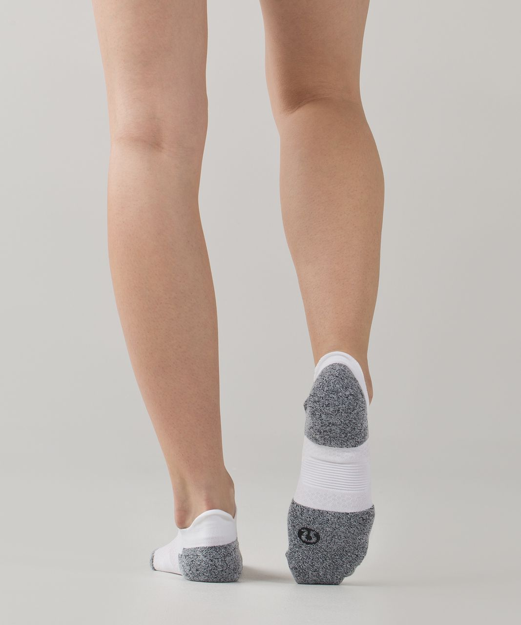 Lululemon High Speed Sock - White / Black