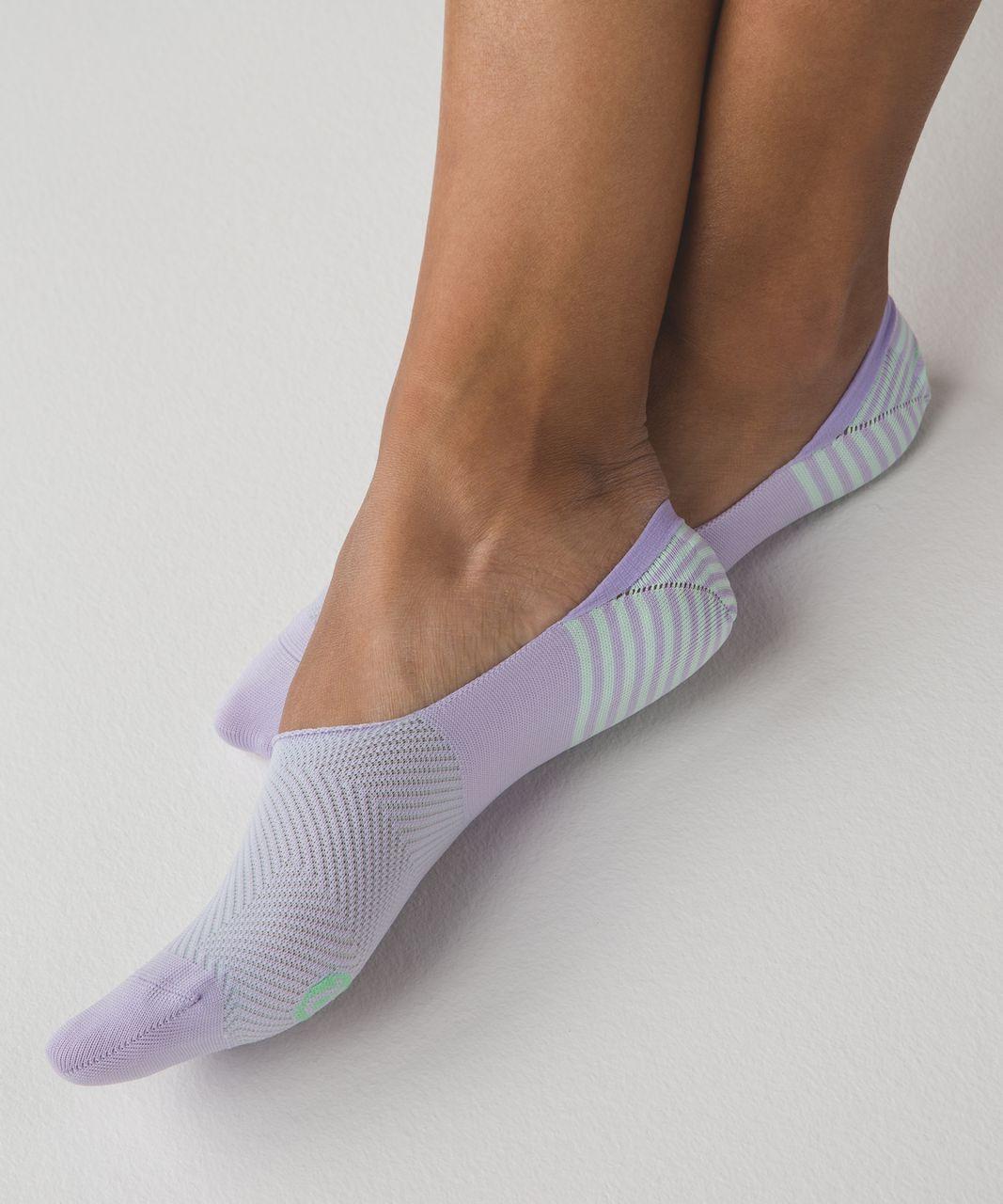 Lululemon Secret Sock - Lilac / Sea Mist