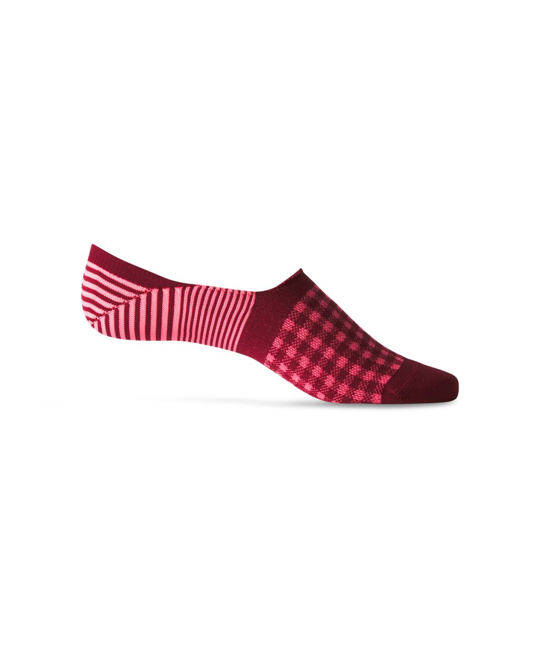 Lululemon Secret Sock - Rosewood / Flash Light