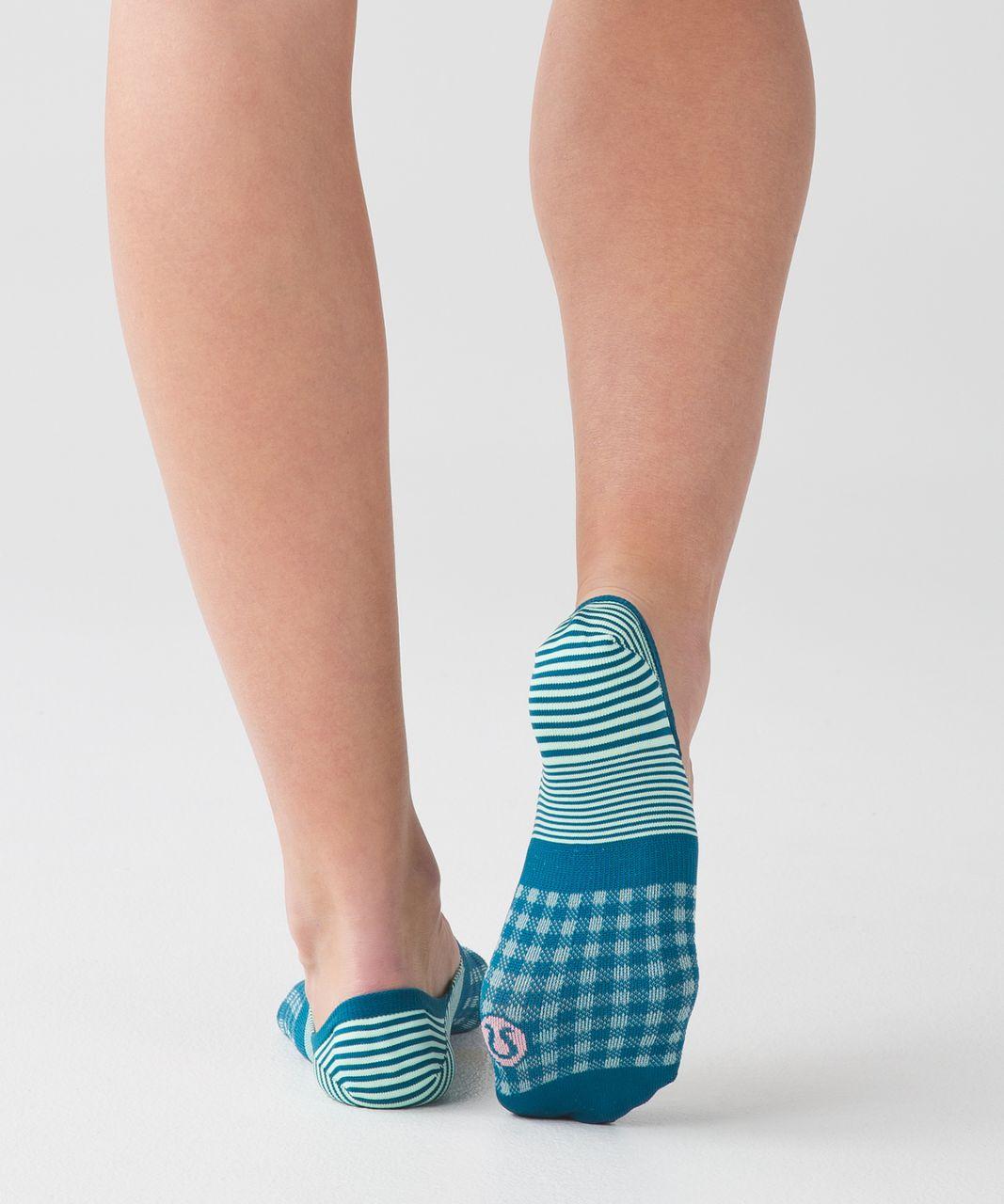 Lululemon Secret Sock - Tofino Teal / Fresh Teal
