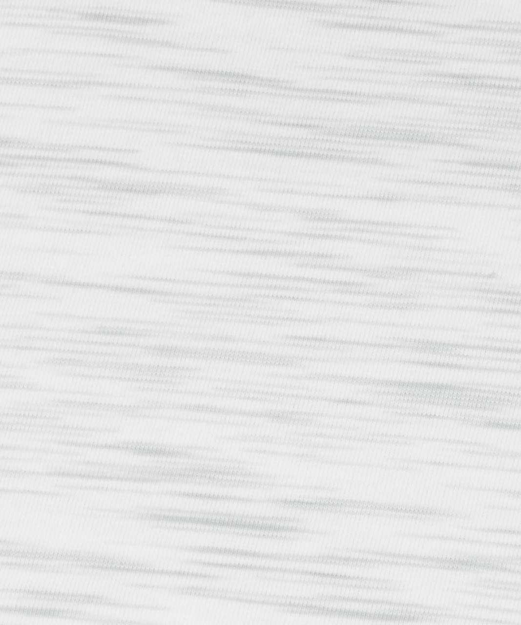Lululemon Love Tank *Pleated - 3 Colour Space Dye Ice Grey Alpine White