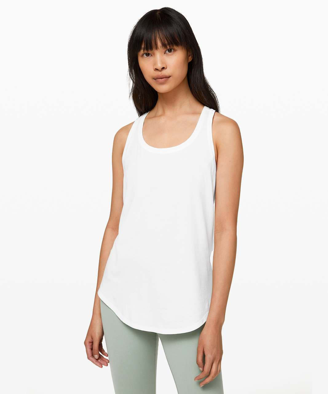 Lululemon Love Tank *Pleated - White (Third Release)