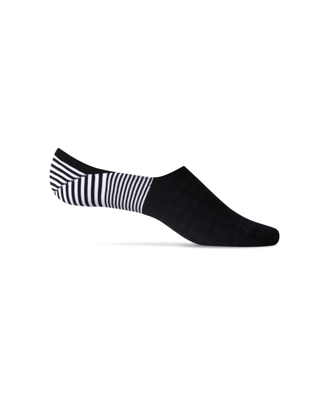Lululemon Secret Sock - Black / White (First Release)