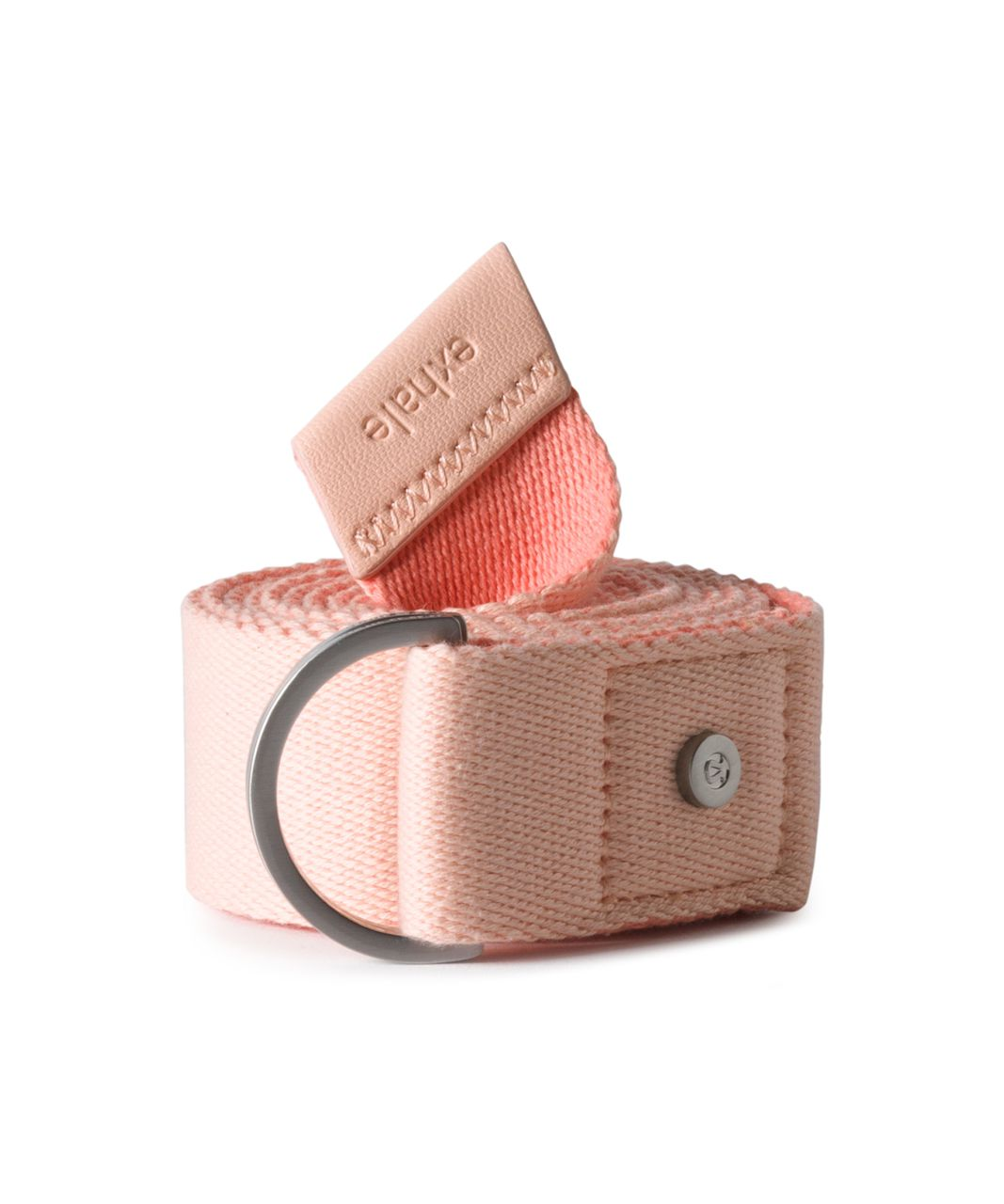 Lululemon No Limits Stretching Strap - Pink Sorbet / Sunny Coral