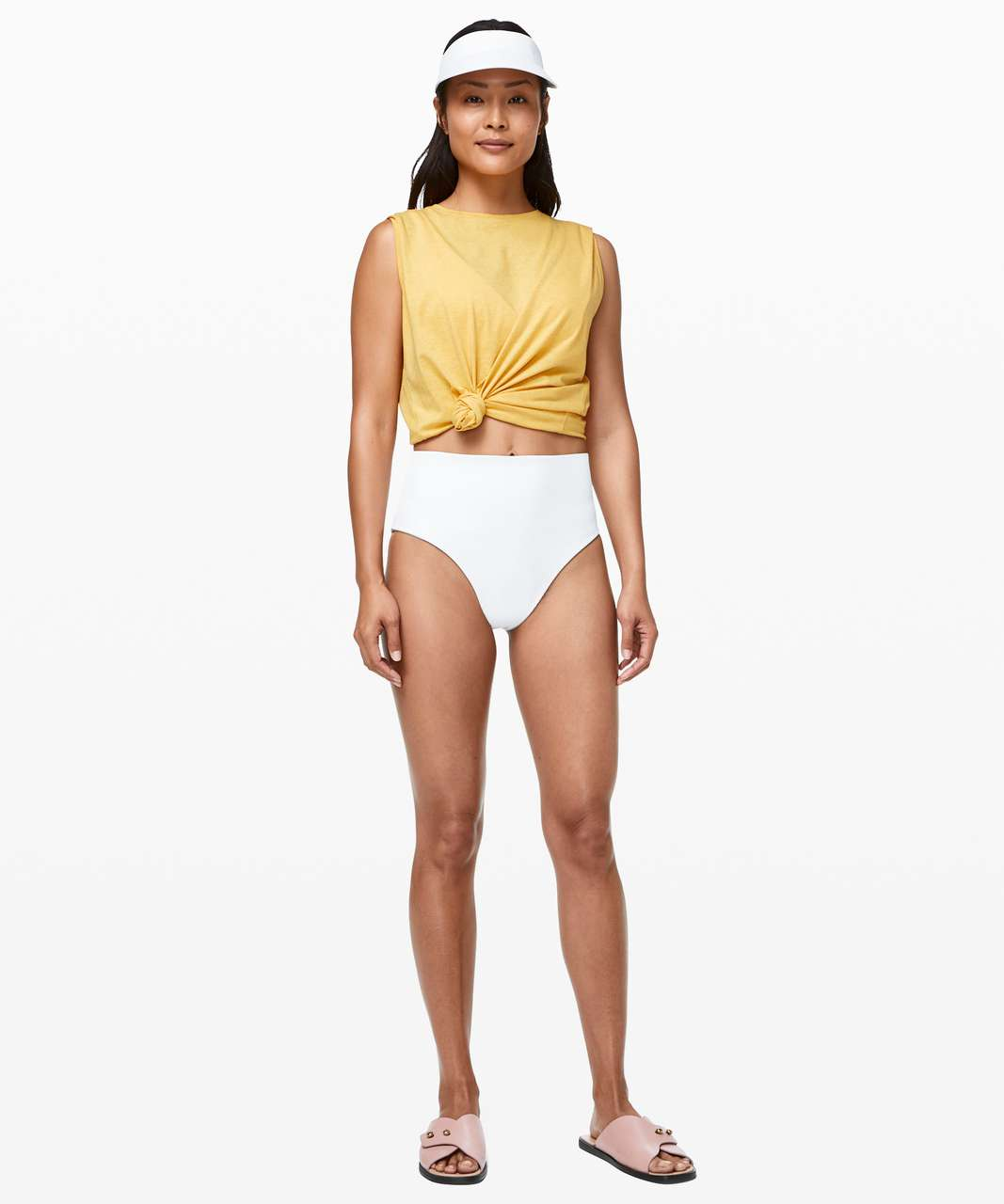 Lululemon Clear Waters High-Rise Skimpy Bottom - White