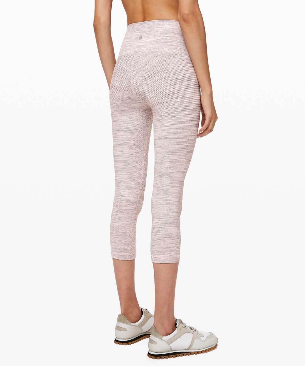 "Lululemon Wunder Under Crop (High-Rise) *21"" - Wee Are From Space Pink Bliss Vintage Mauve"
