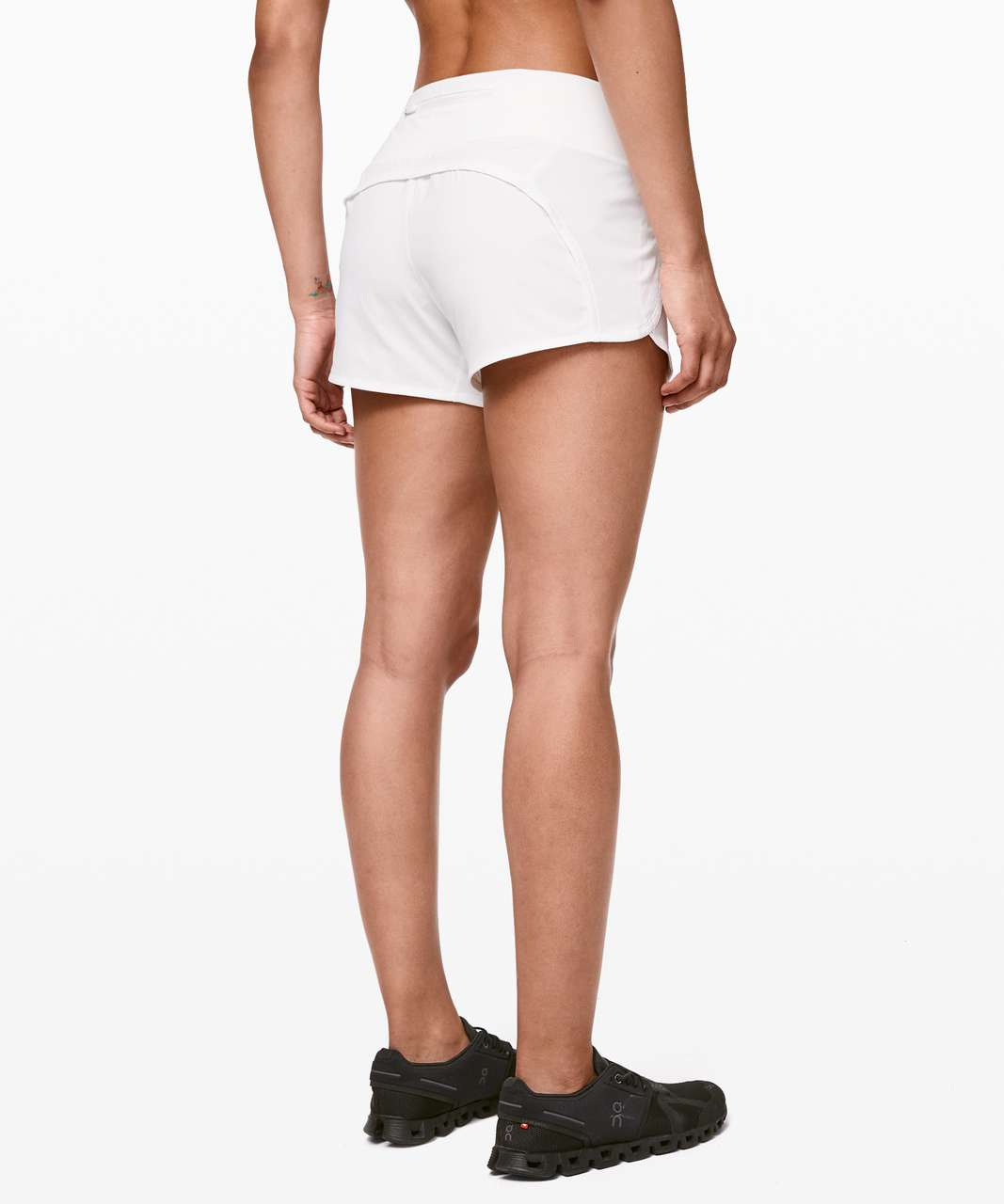 "Lululemon Run Times Short II *4"" - White"
