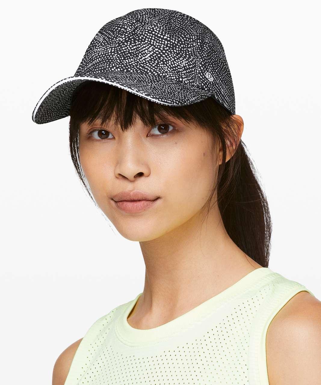 Lululemon Baller Hat Run - Free Spirit Alpine White Black