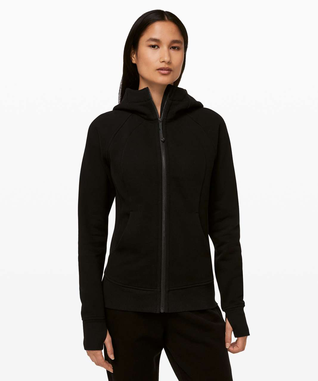 Lululemon Scuba Hoodie *Light Cotton Fleece - Black