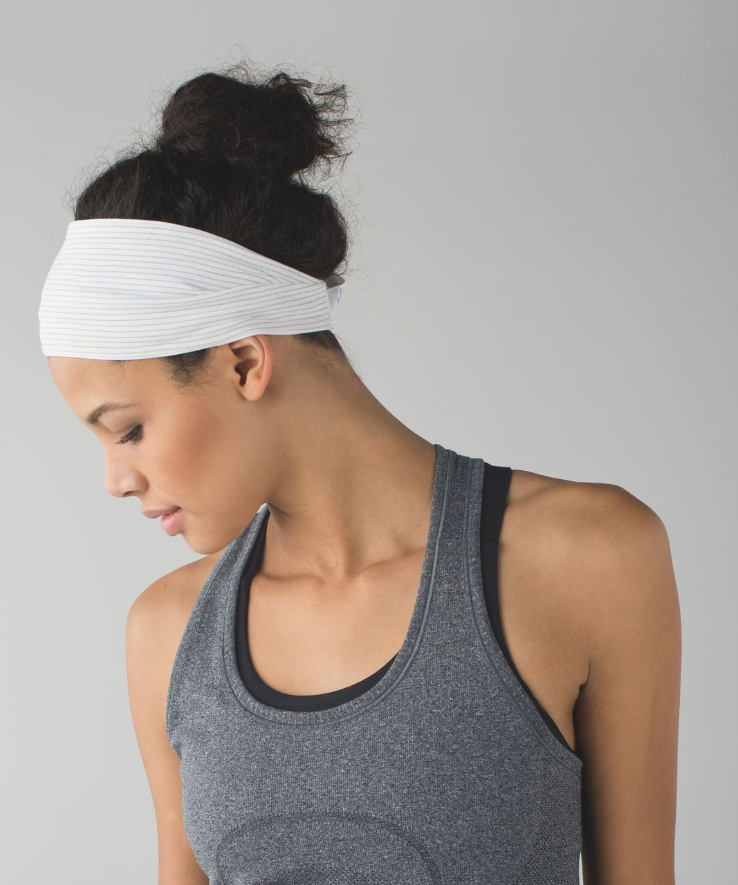 Lululemon Fringe Fighter Headband - White / White