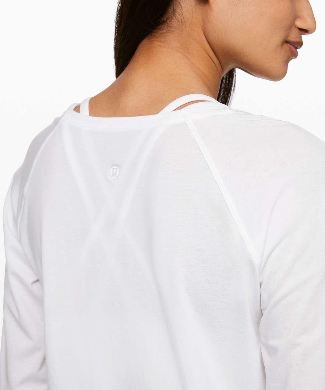 Lululemon Emerald Long Sleeve - White