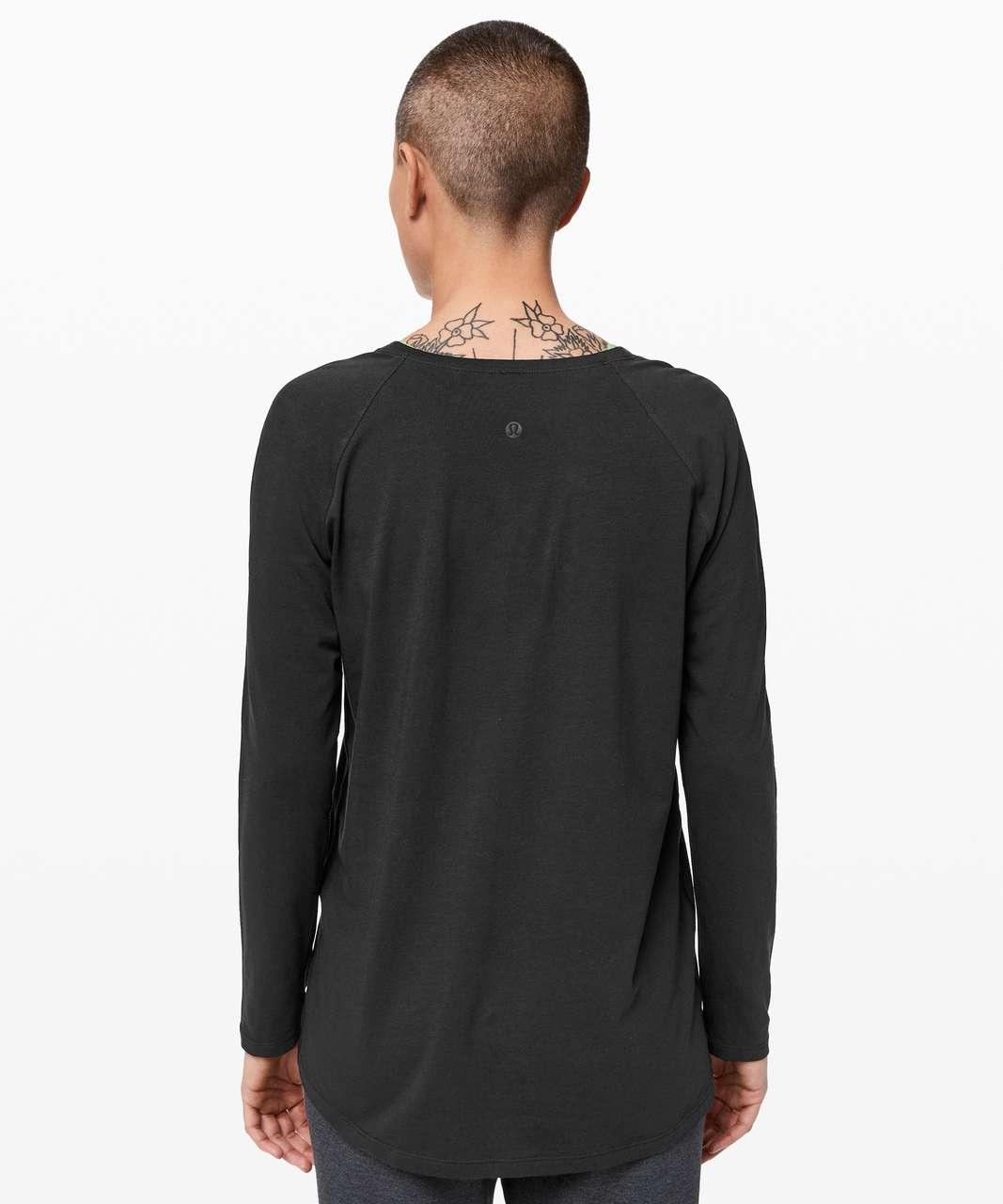 Lululemon Emerald Long Sleeve - Black