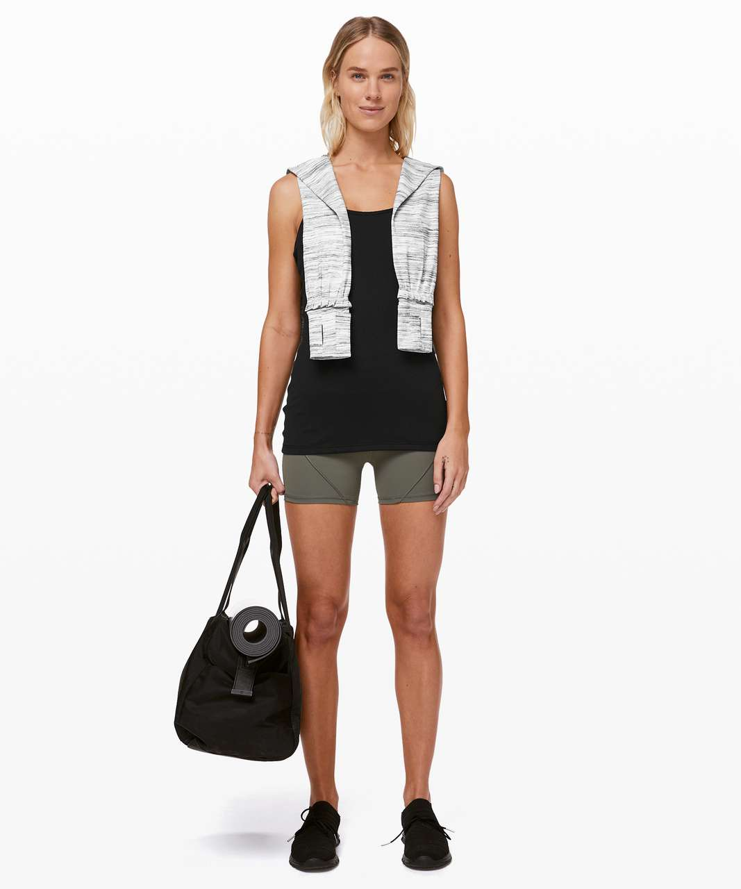 Lululemon Power Y Tank *Luon - Black