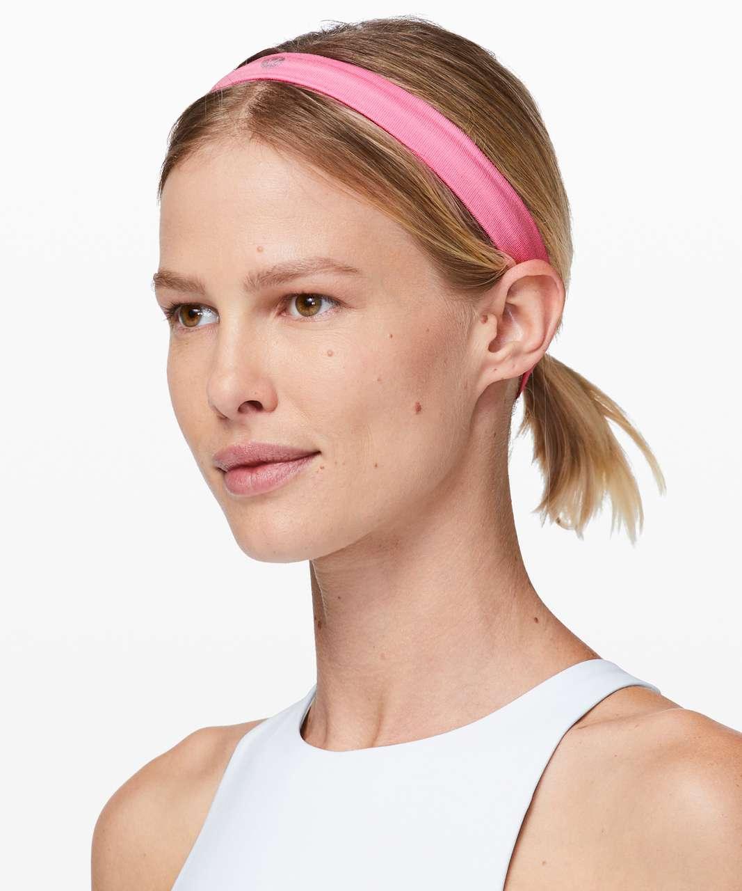 Lululemon Cardio Cross Trainer Headband - Pink Shell / Pink Shell