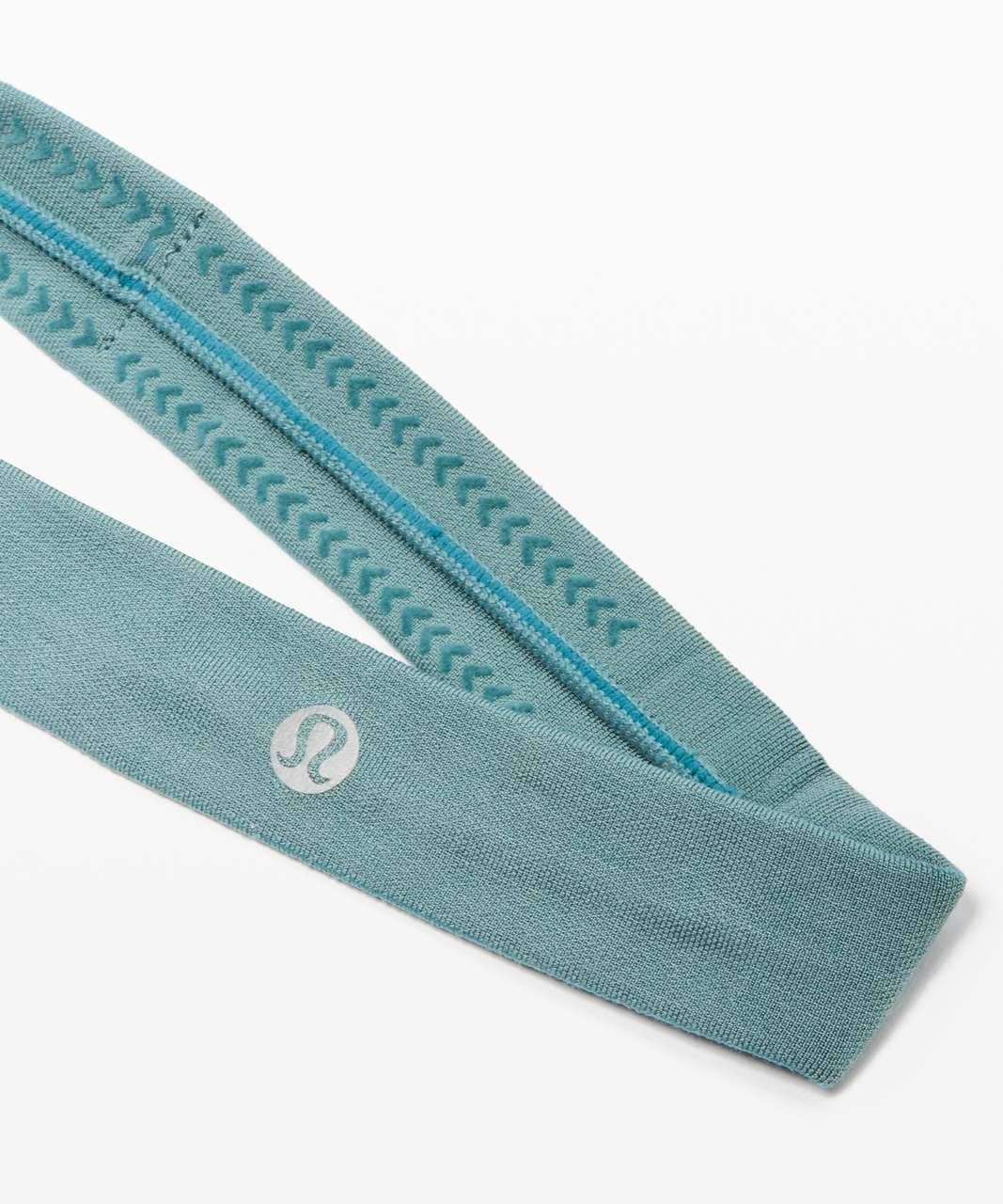 Lululemon Cardio Cross Trainer Headband - Aquatic Green / Aquatic Green