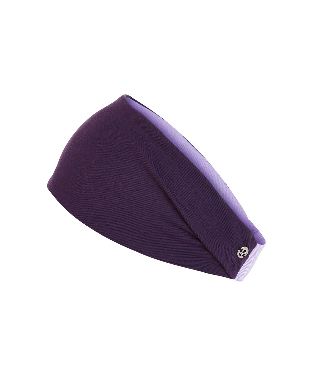 Lululemon Fringe Fighter Headband - Deep Zinfandel / Lilac