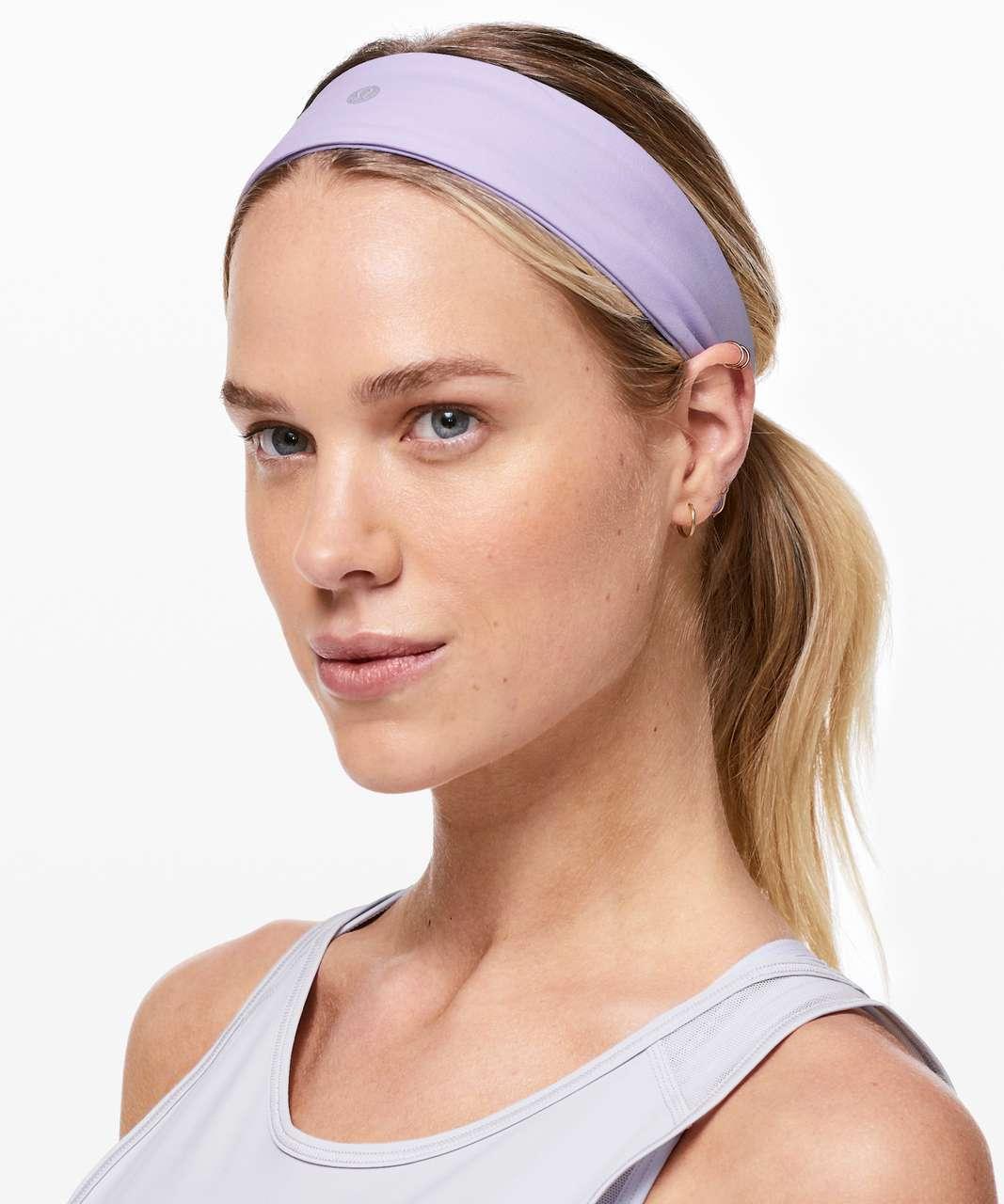 Lululemon Fly Away Tamer Headband II - Sheer Violet