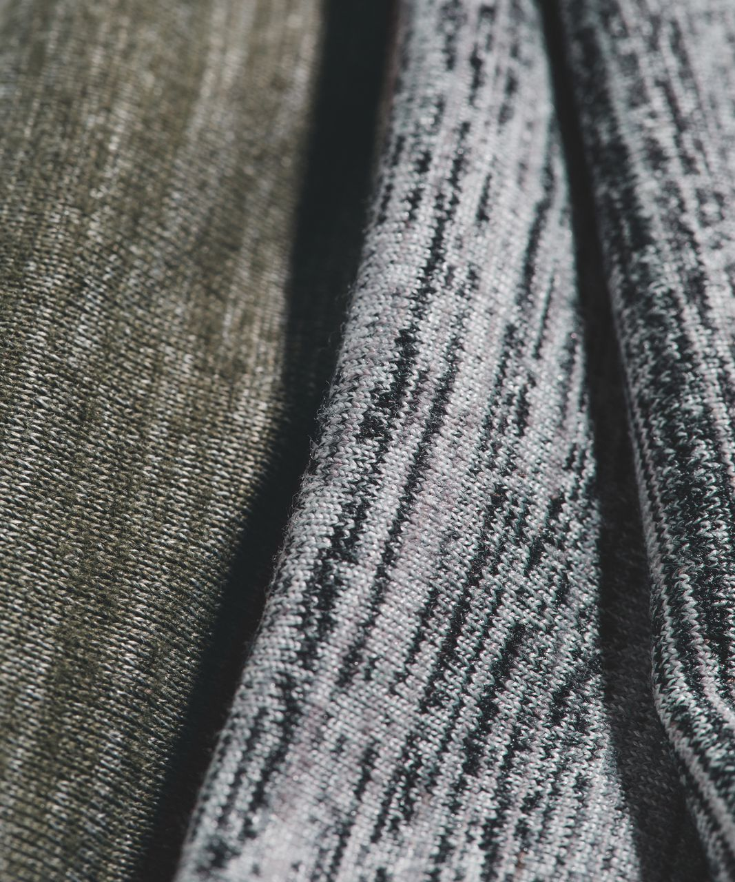 Lululemon Fringe Fighter Headband - Space Dye Camo Seal Grey Deep Coal / Heathered Fatigue Green