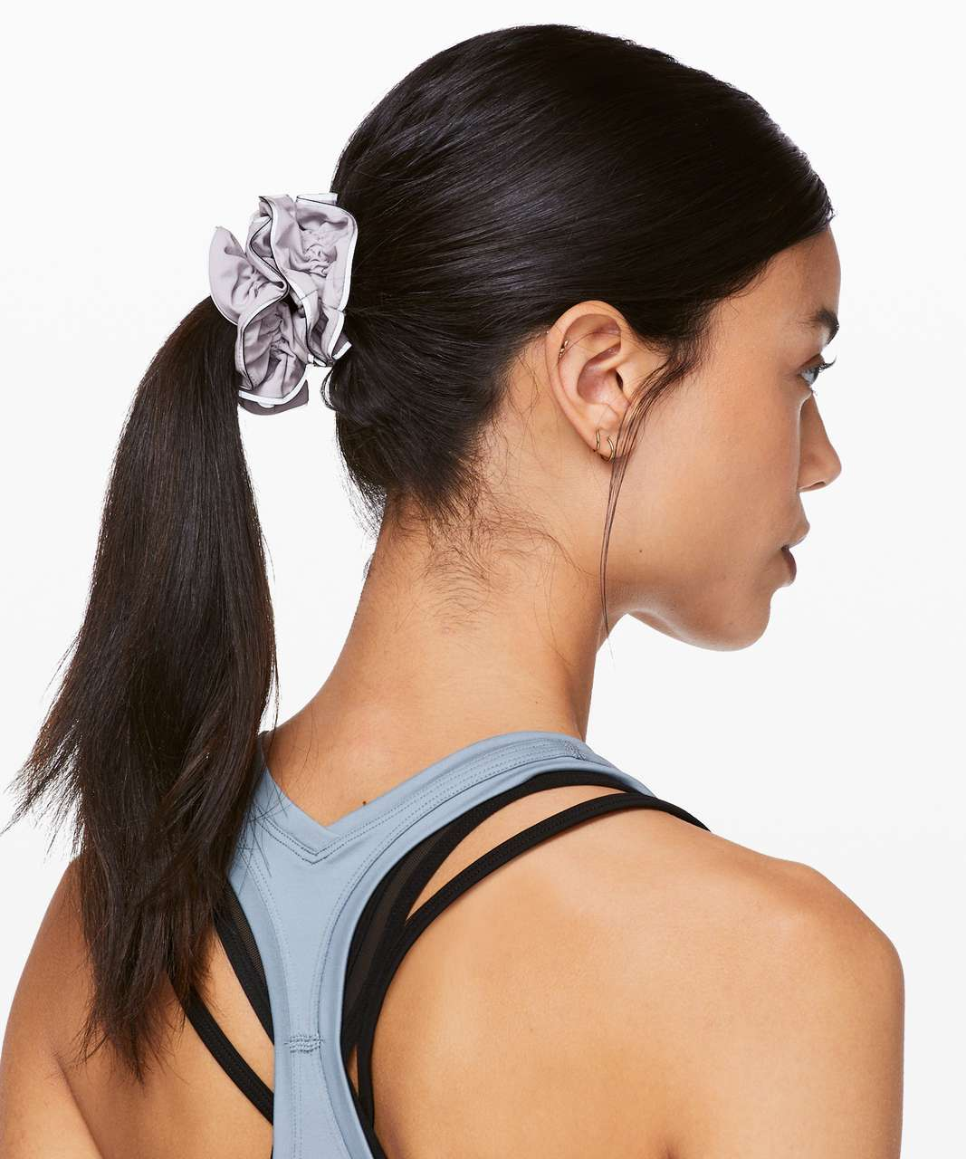 Lululemon Light Locks Scrunchie - Silver Lilac