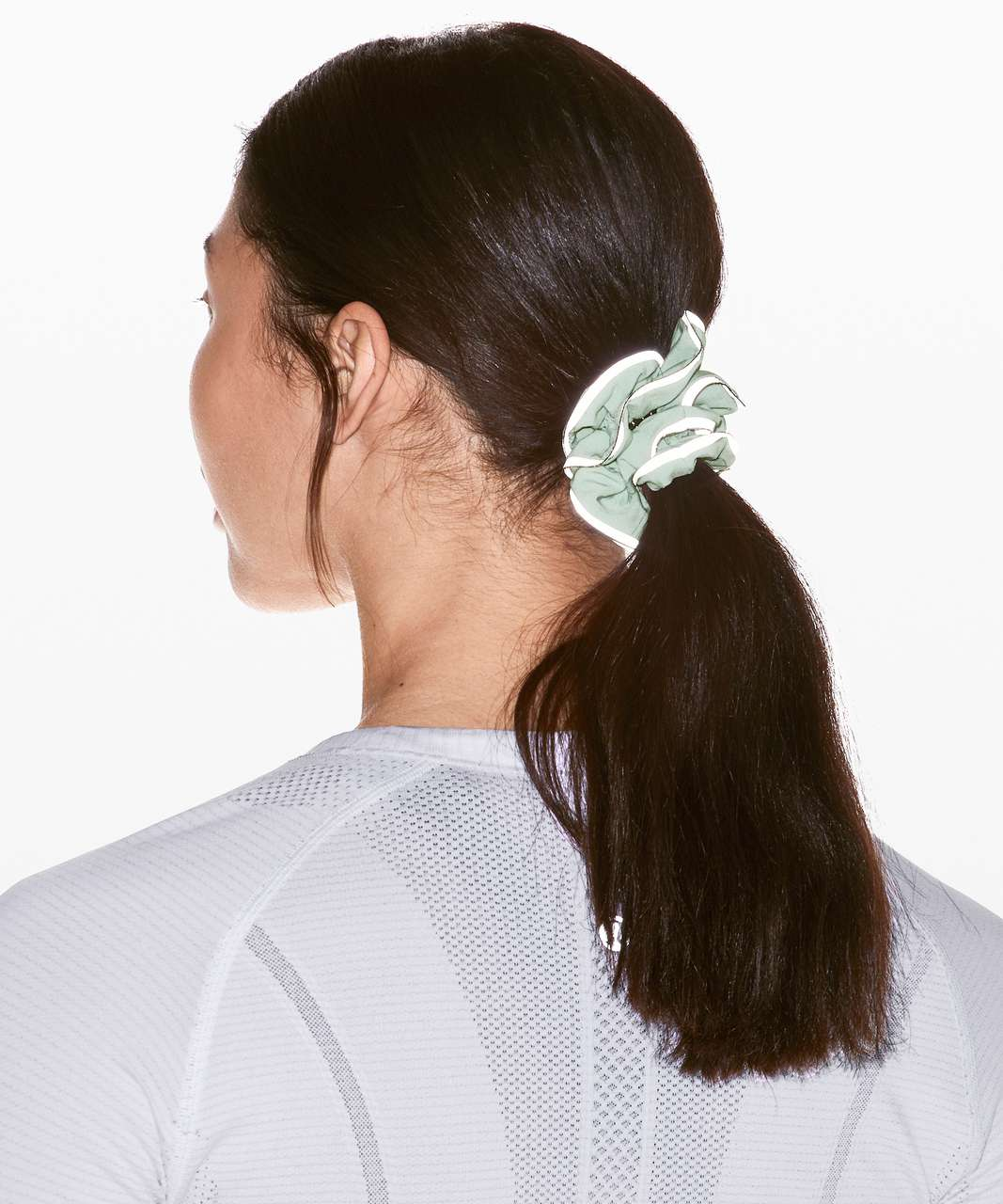 Lululemon Light Locks Scrunchie - Mystic Mint