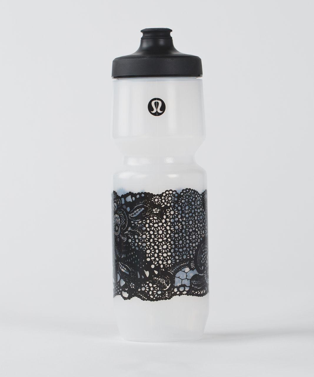 Lululemon Purist Cycling Waterbottle - Pretty Lace Purist