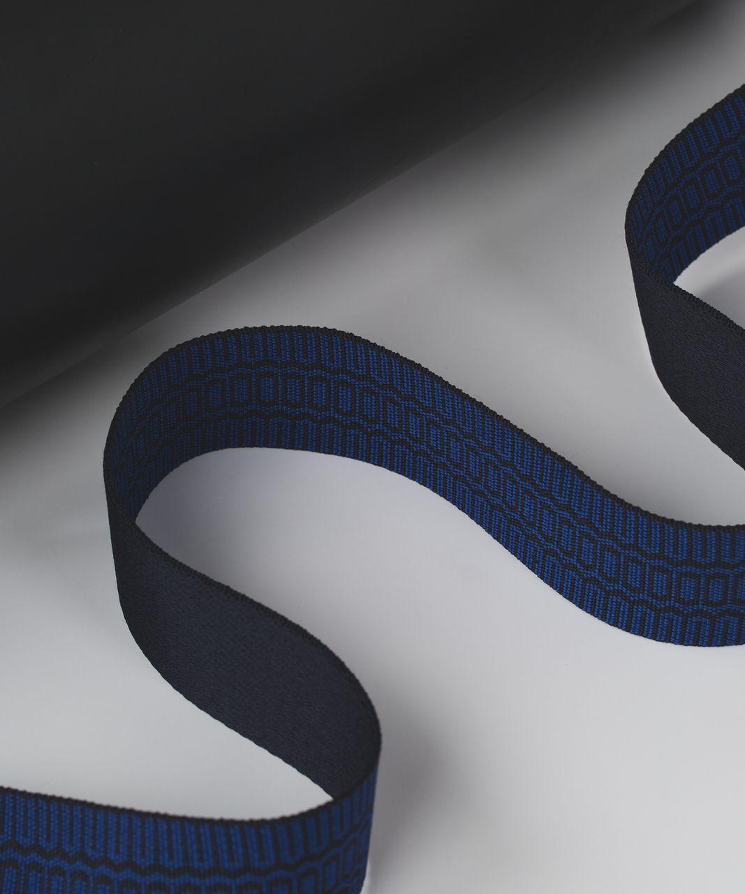 Lululemon Loop It Up Mat Strap - Naval Blue / Sapphire