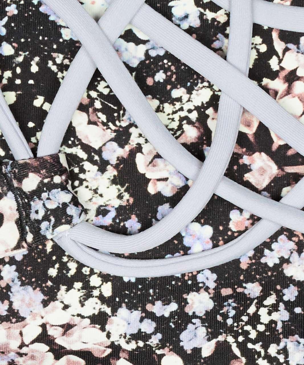 Lululemon Free To Be Bra (Wild) - Floral Spritz Multi / Silver Lilac