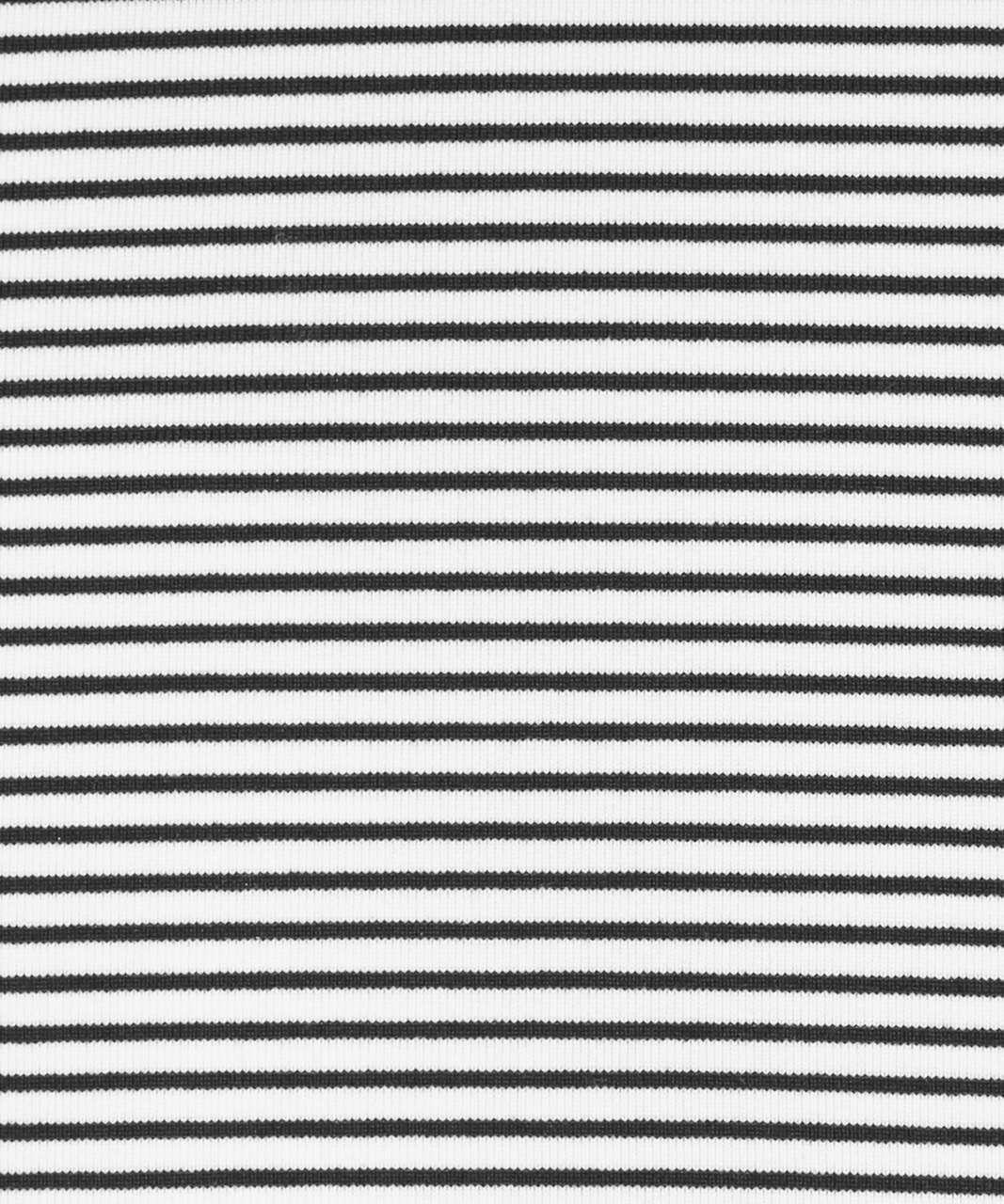 Lululemon Cool Racerback II - Hyper Stripe White Black