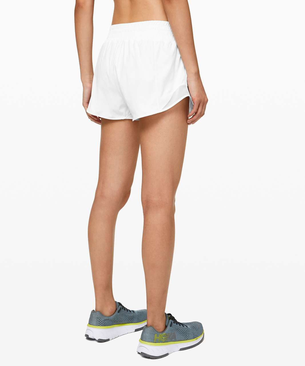 "Lululemon Hotty Hot Short *High-Rise 2.5"" - White"