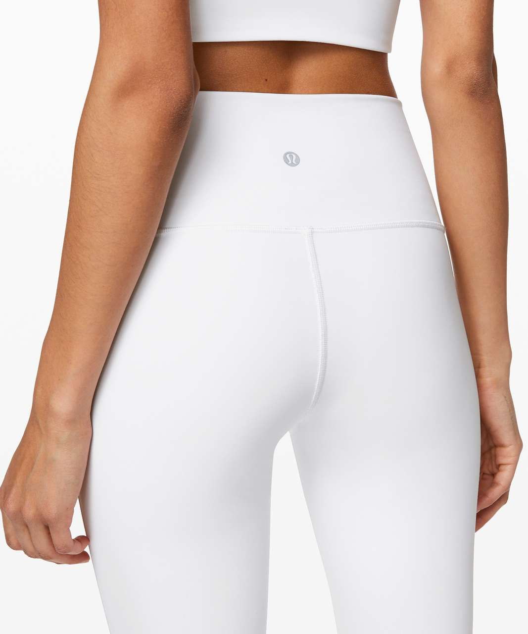 "Lululemon Wunder Under Crop (High-Rise) *Full-On Luxtreme 21"" - White"